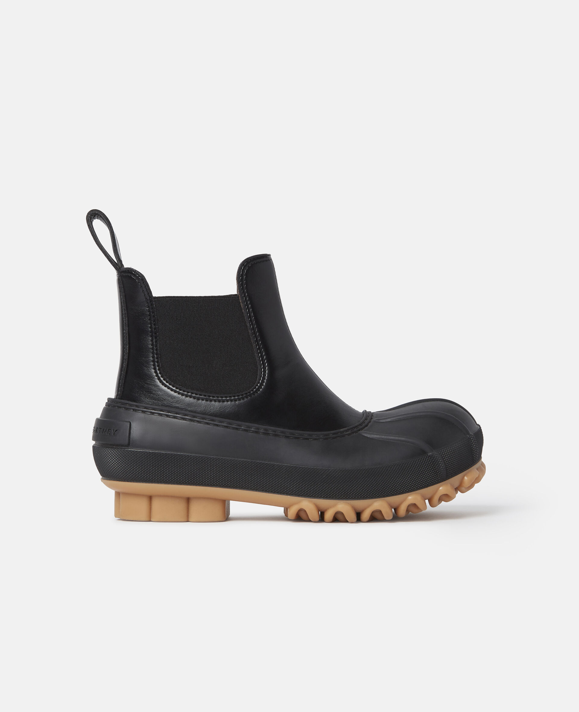 Duck City Chelsea Boots-Black-large image number 0