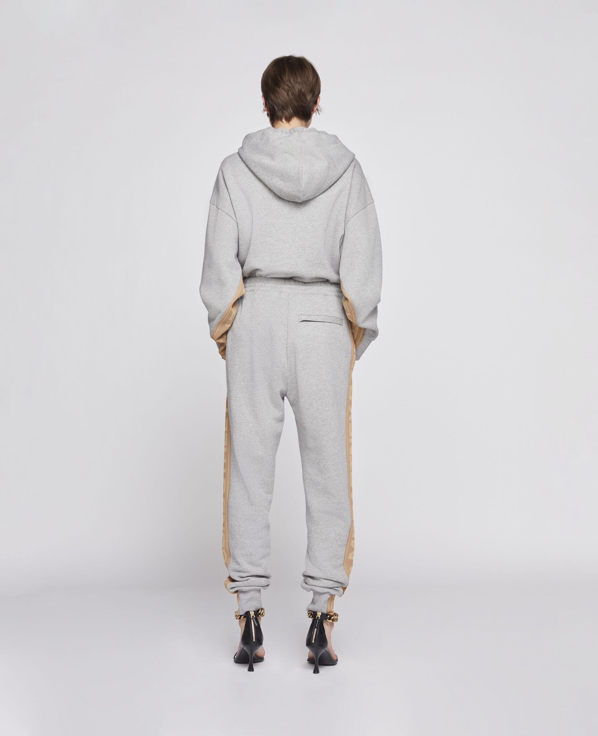 Pantalon 23 OBS en maille -Gris-large image number 2