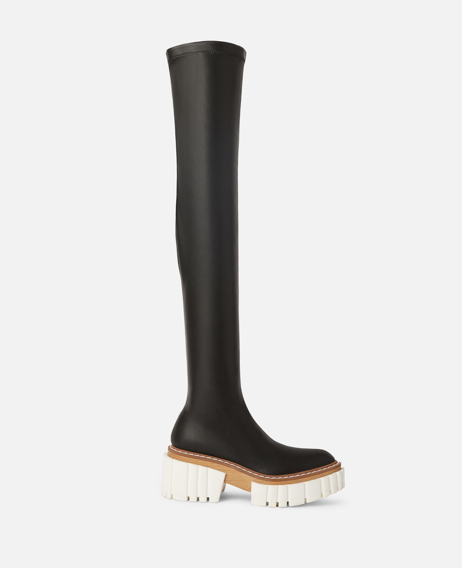 Emilie 过膝靴-黑色-large image number 0