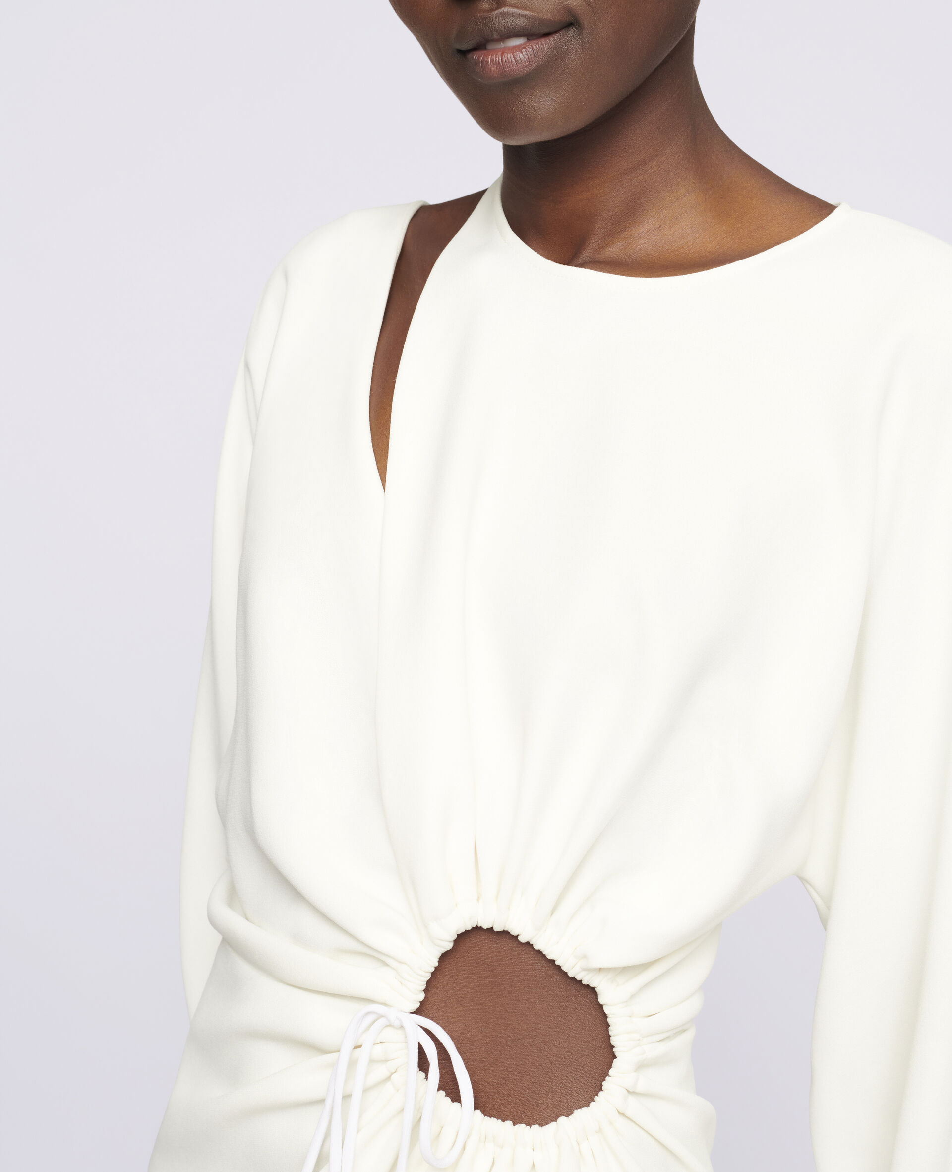 Alison Mini Dress-White-large image number 3