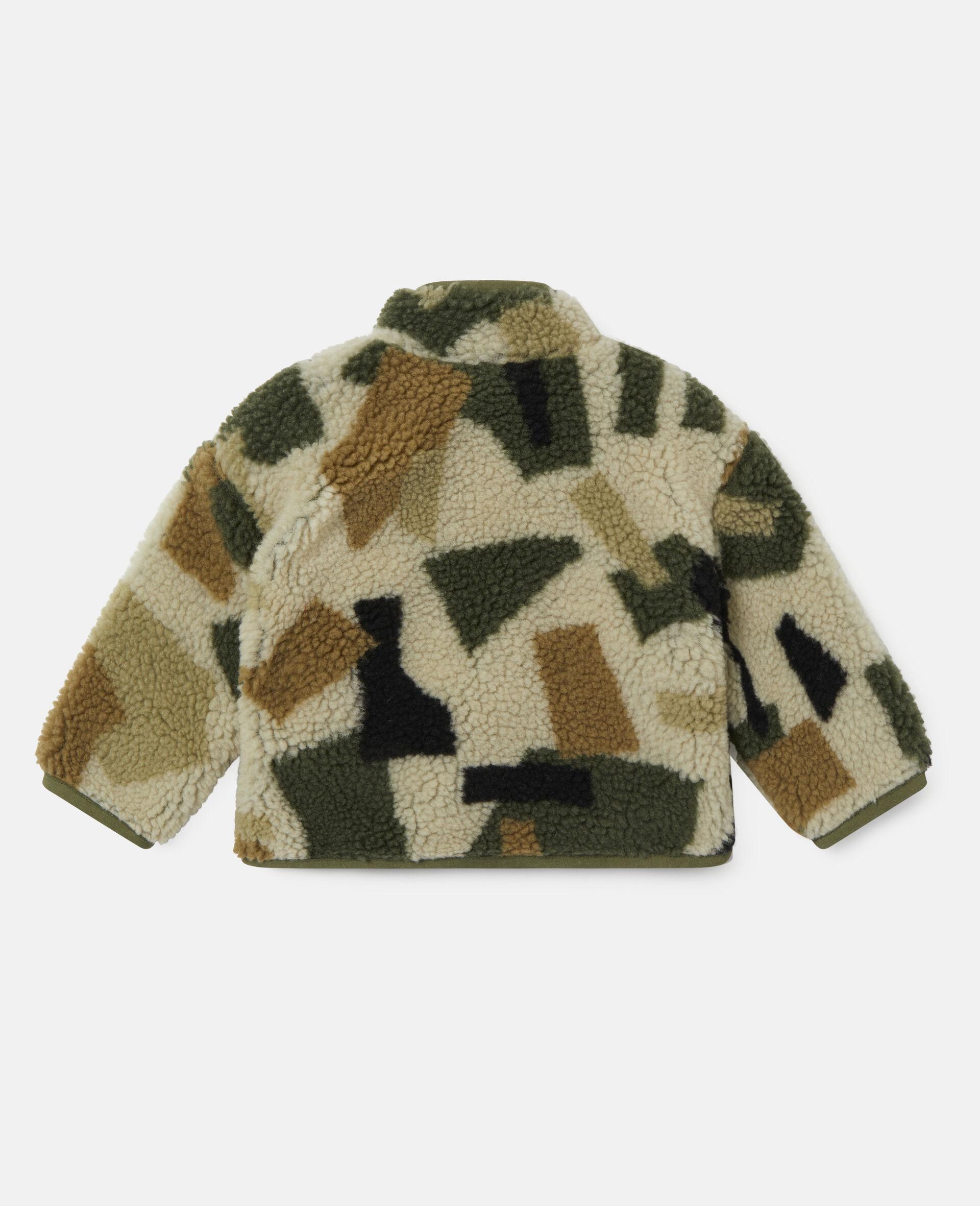 Military Camouflage Teddy Jacket-Multicolour-large image number 3