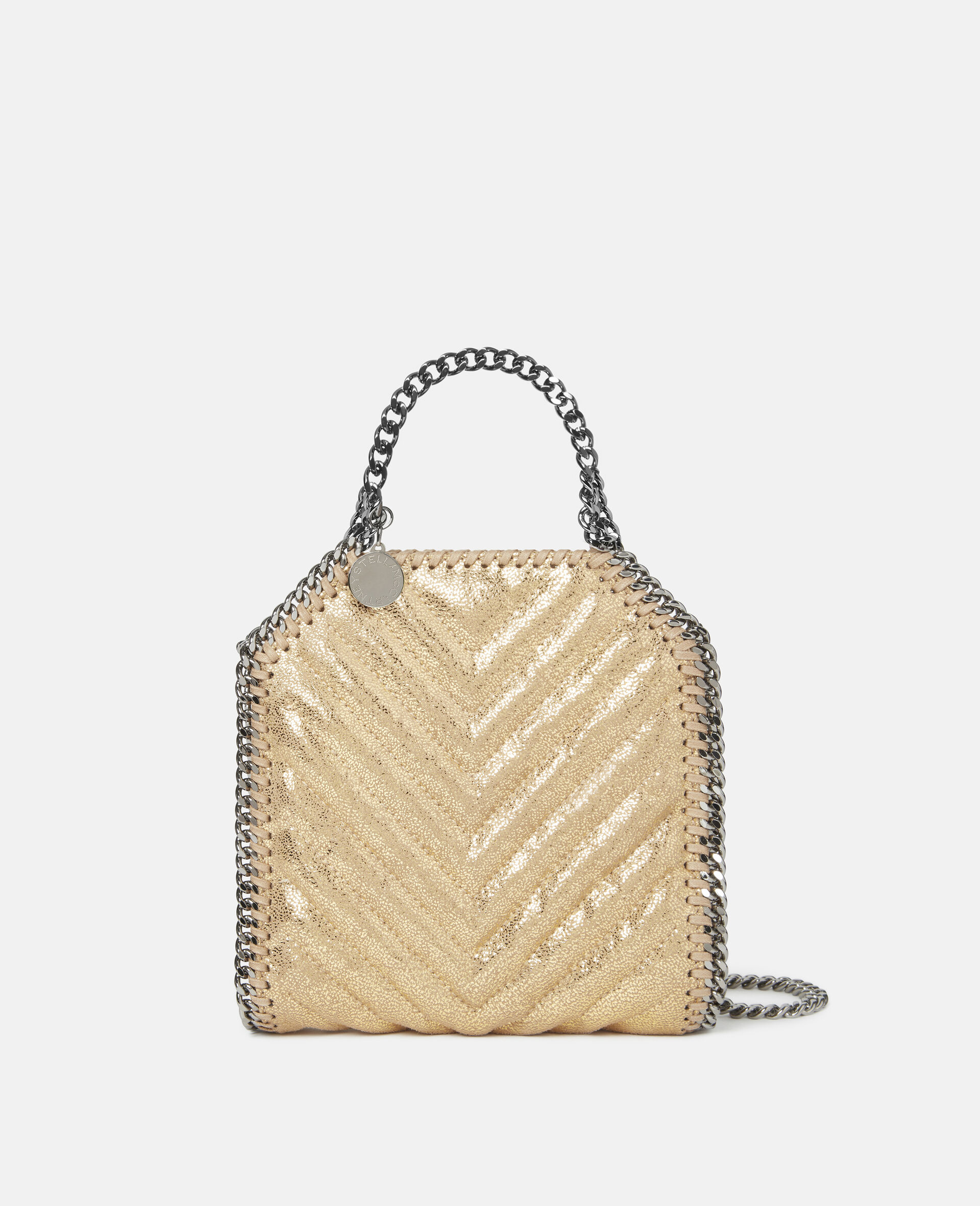 Falabella Tiny Tote-Yellow-large image number 0