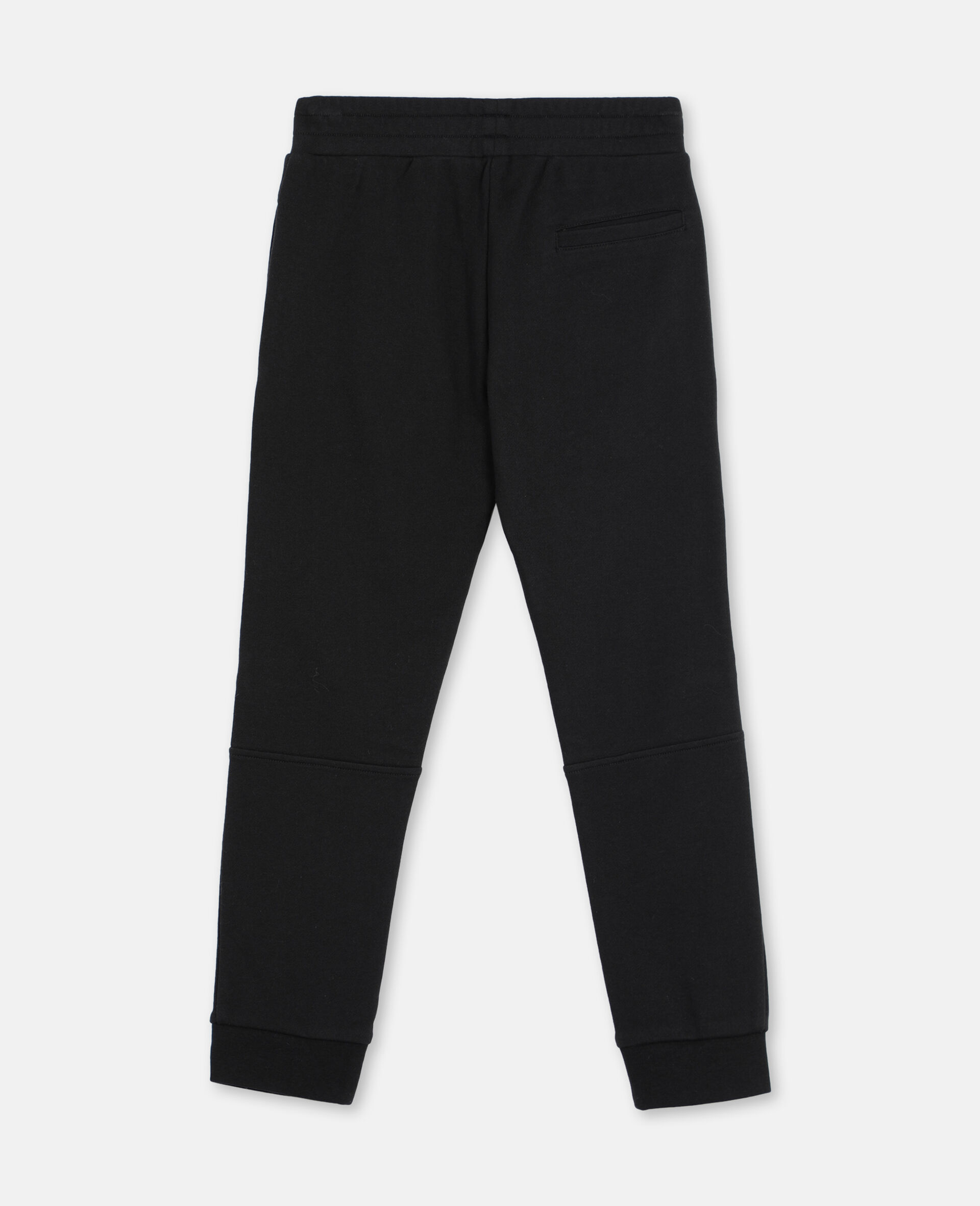 Basic 棉质运动裤 -黑色-large image number 3