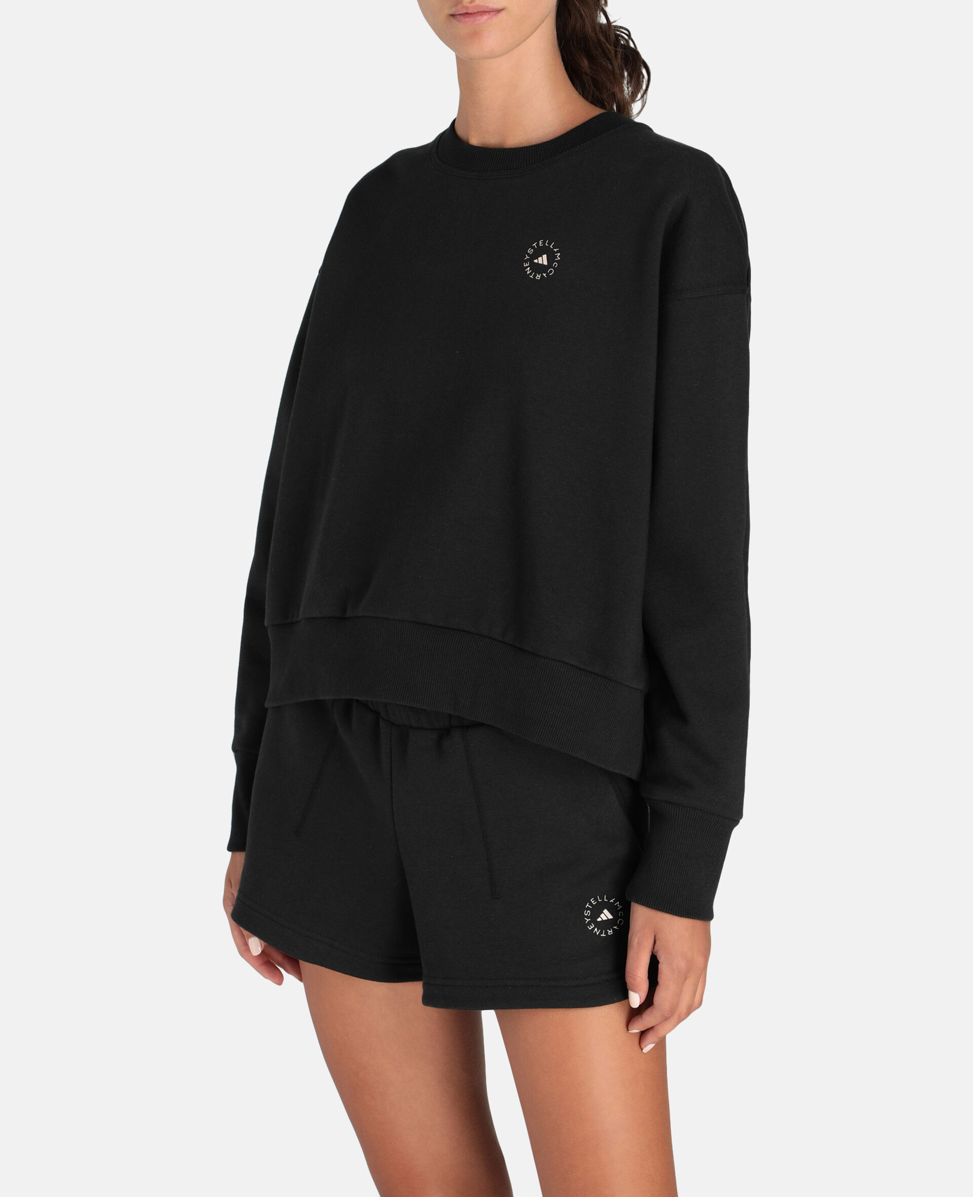 Sweat-shirt de sport noir-Noir-large image number 4