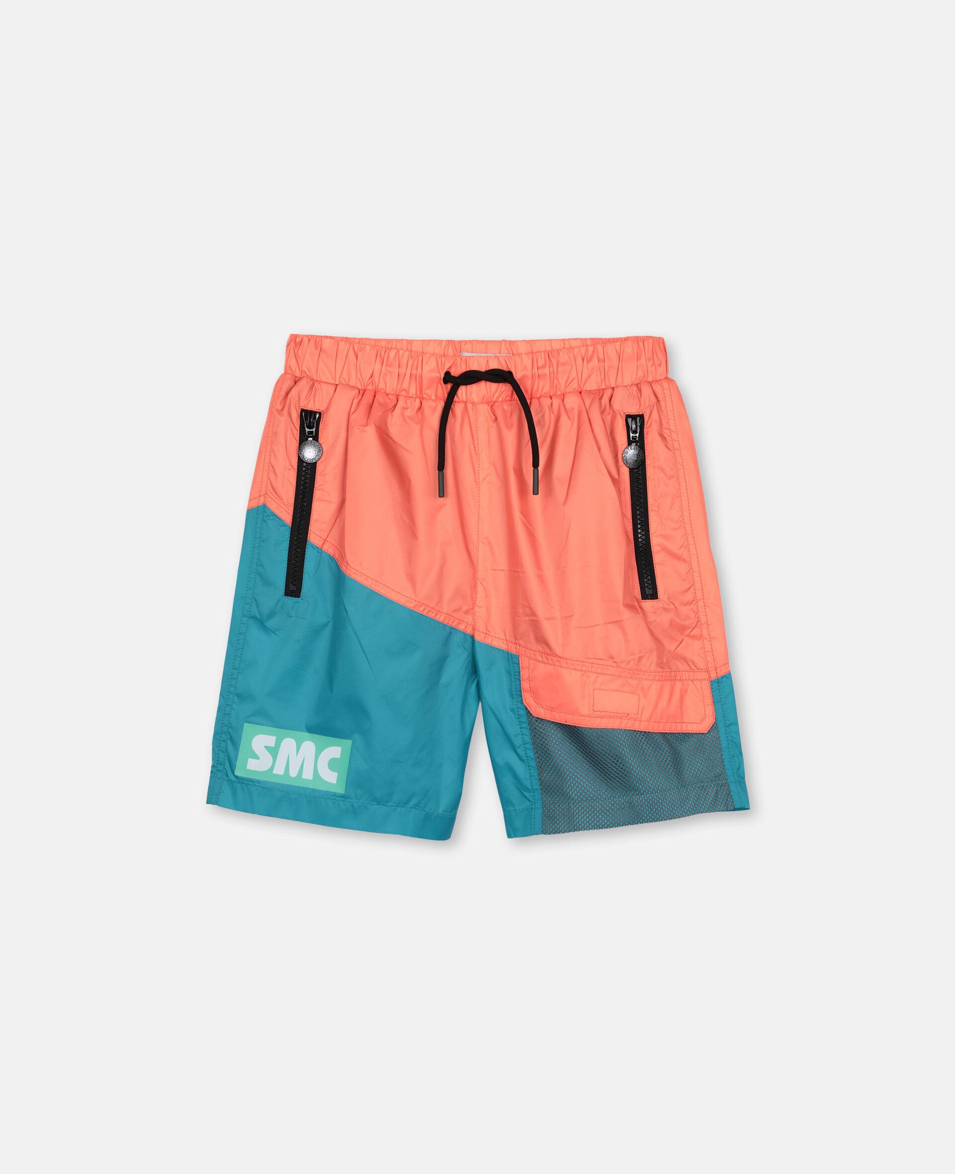 Logo Sport Swim Shorts -Orange-large image number 0