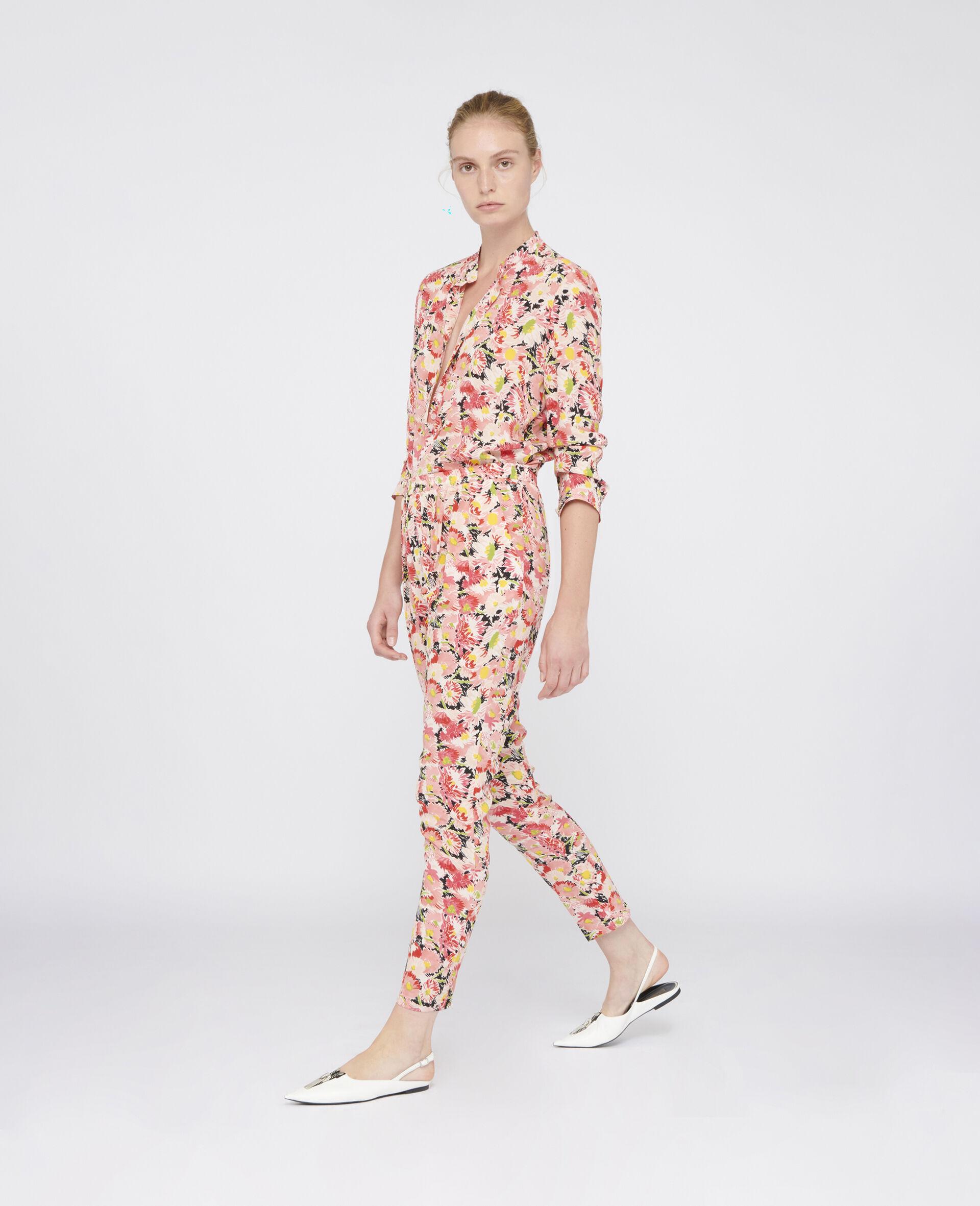 Eva Silk Shirt-Multicolour-large image number 1