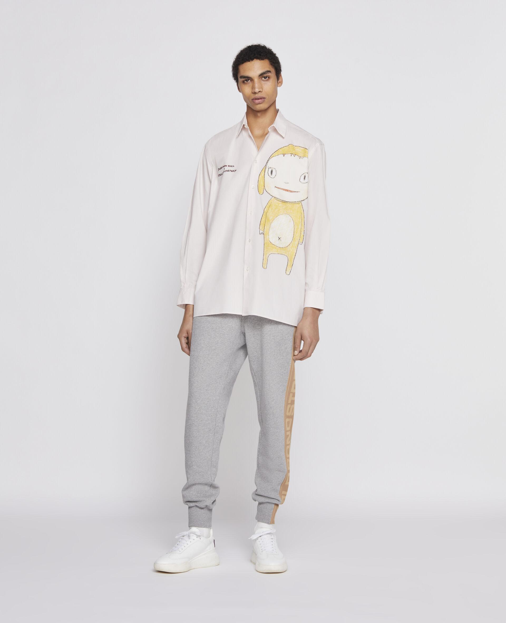 Nara Cotton Shirt-Pink-large image number 3