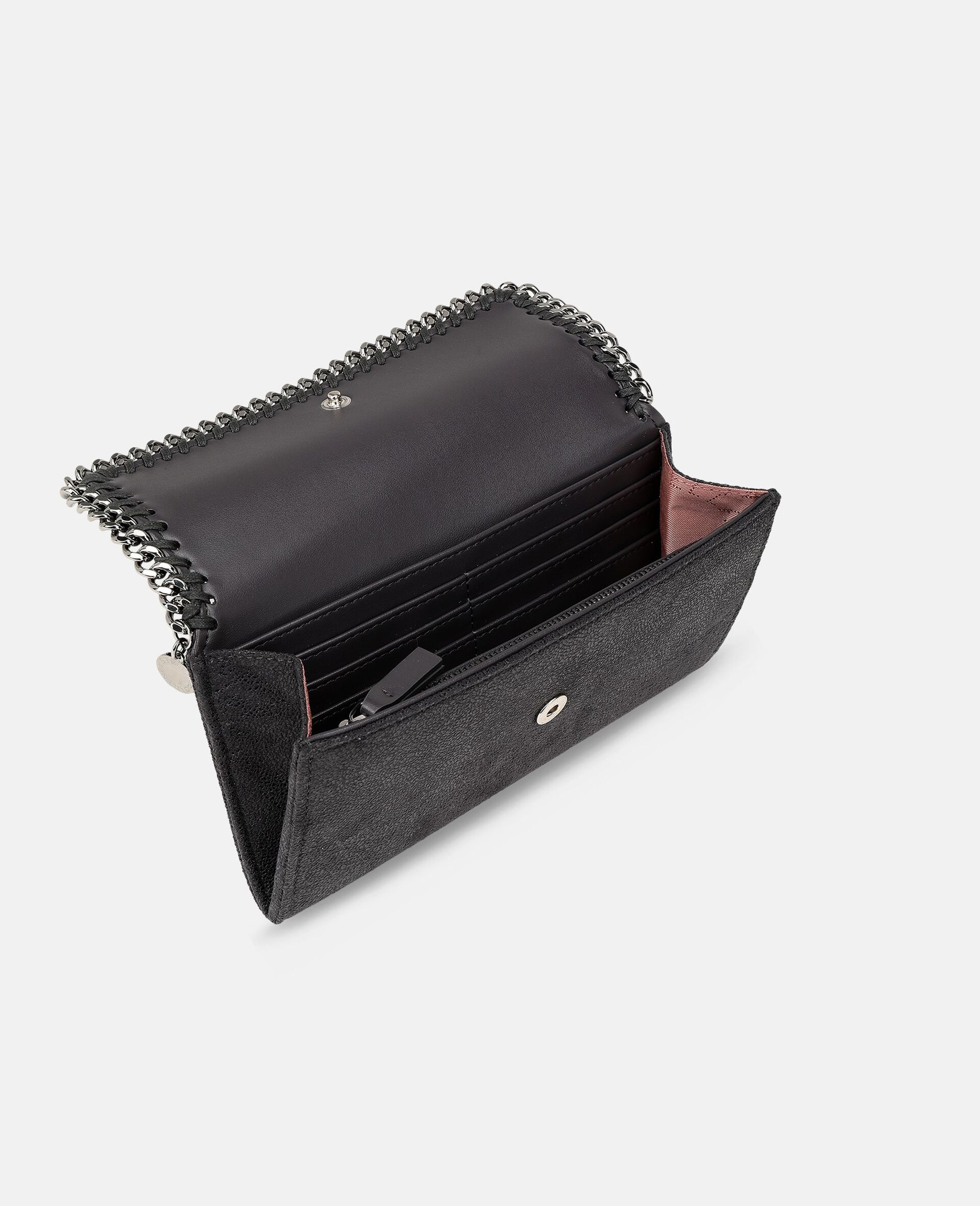 Falabella Continental Wallet-Grey-large image number 3
