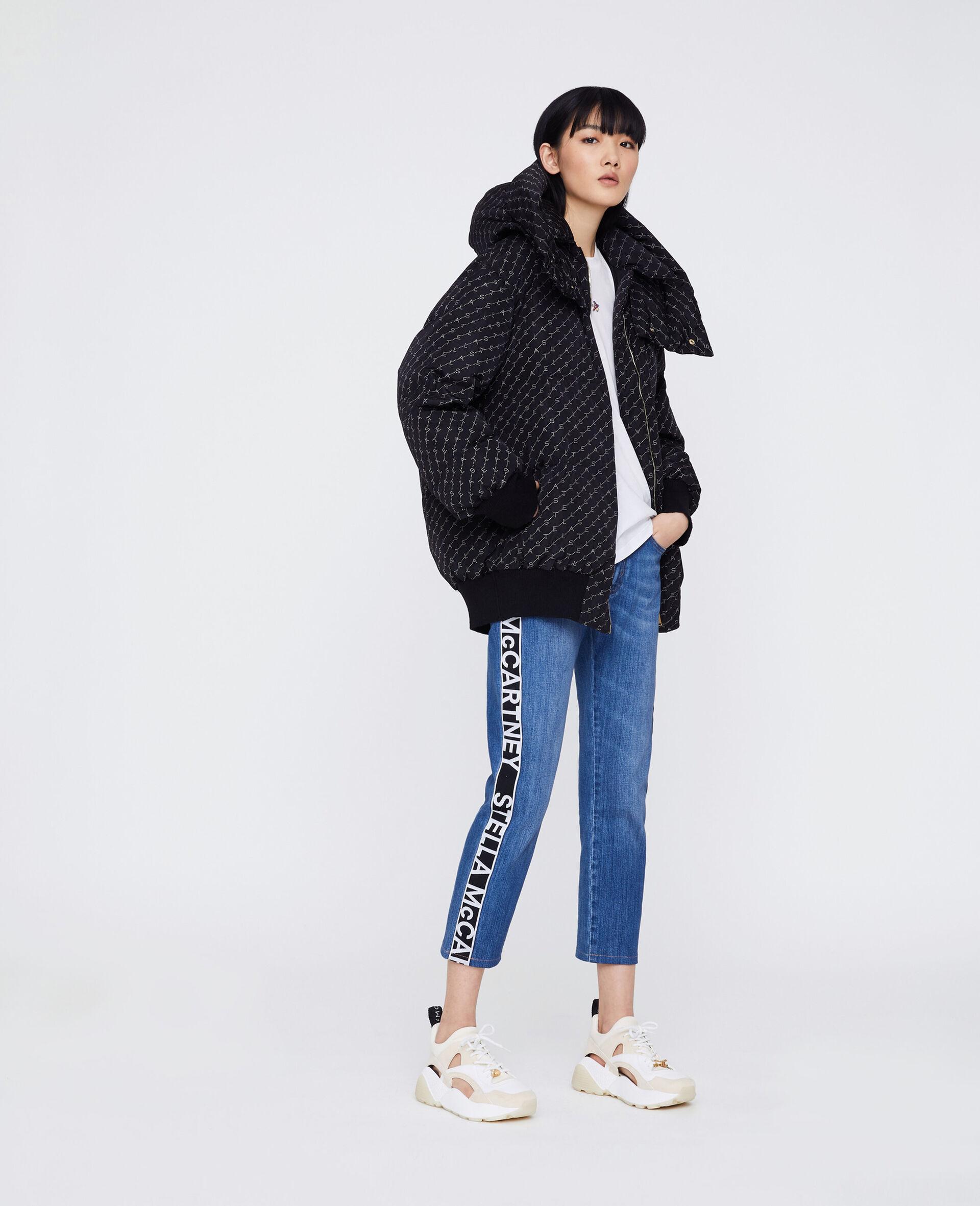 Boyfriend-Jeans in Skinny-Passform-Blau-large image number 1