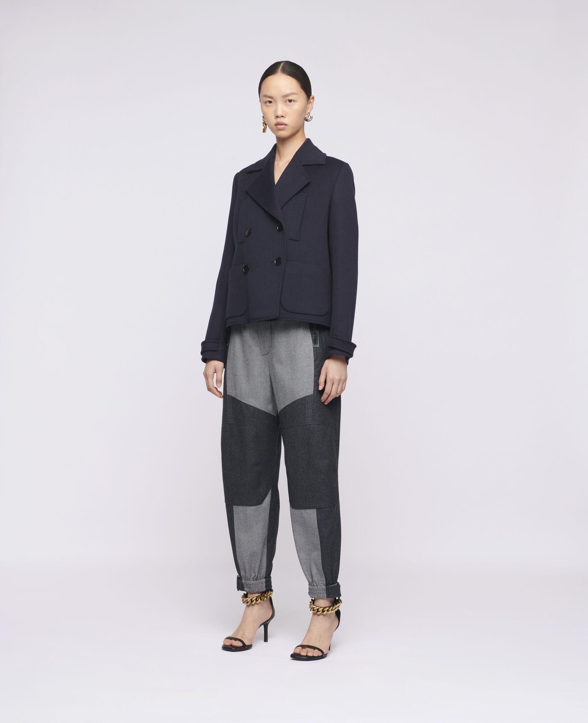 Manteau en laine Rebecca-Bleu-large image number 1