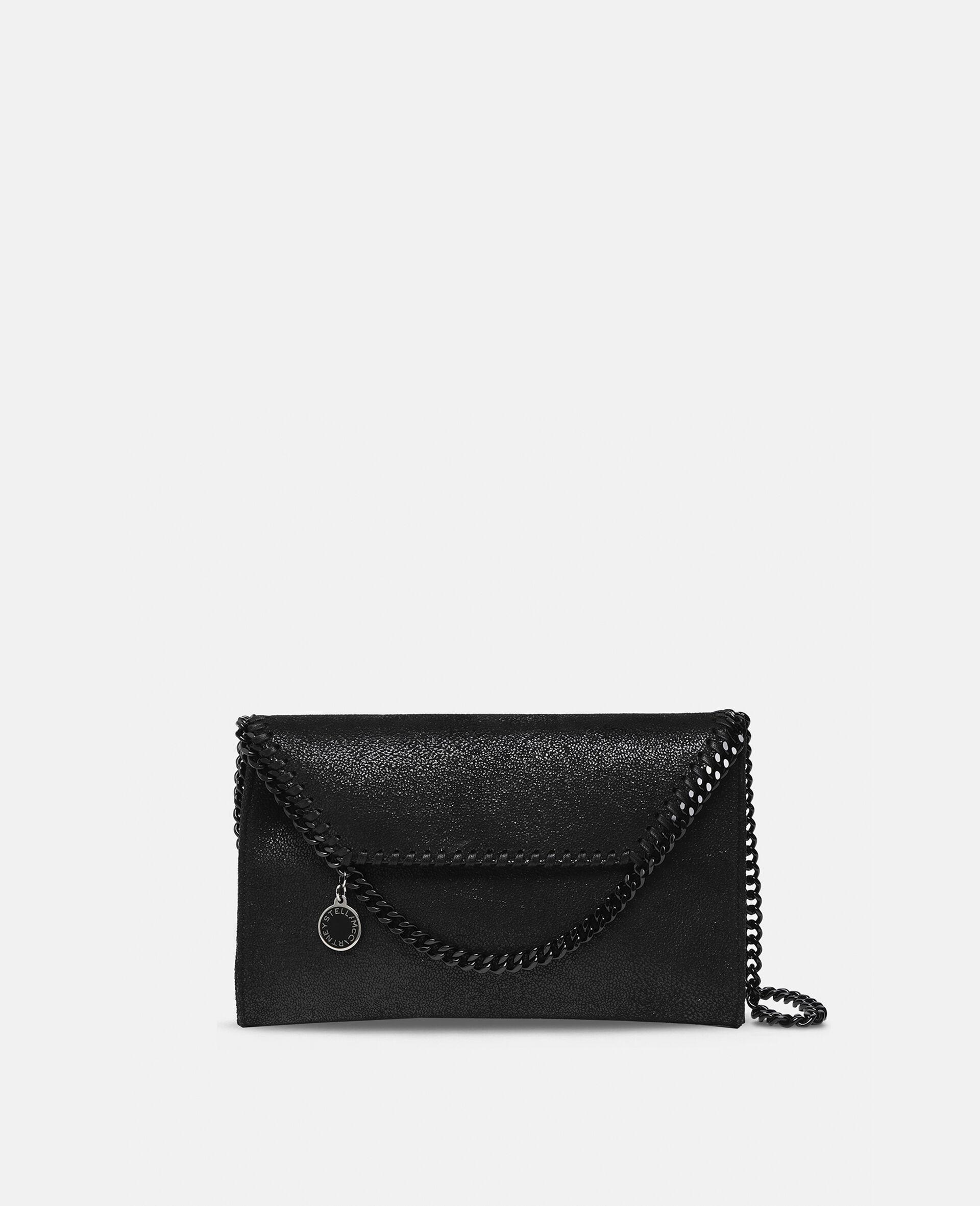 Mini-sac porté épaule Falabella-Noir-large image number 0