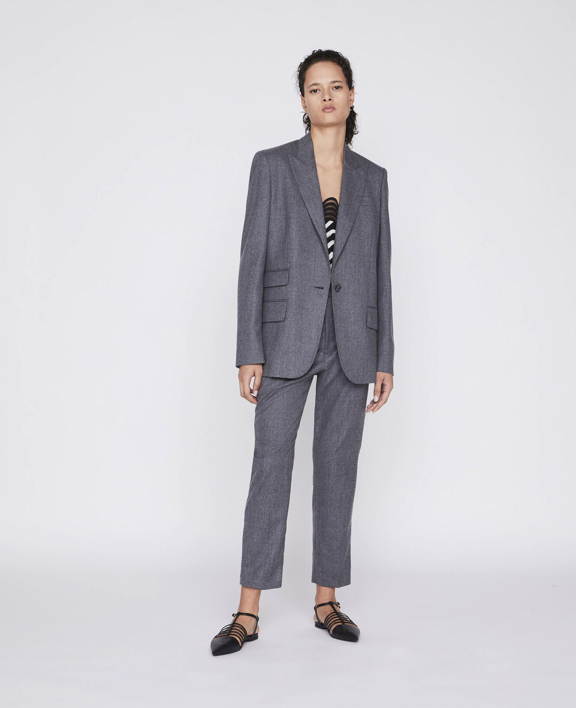 Tailored Bell Jacket -Grau-large image number 1