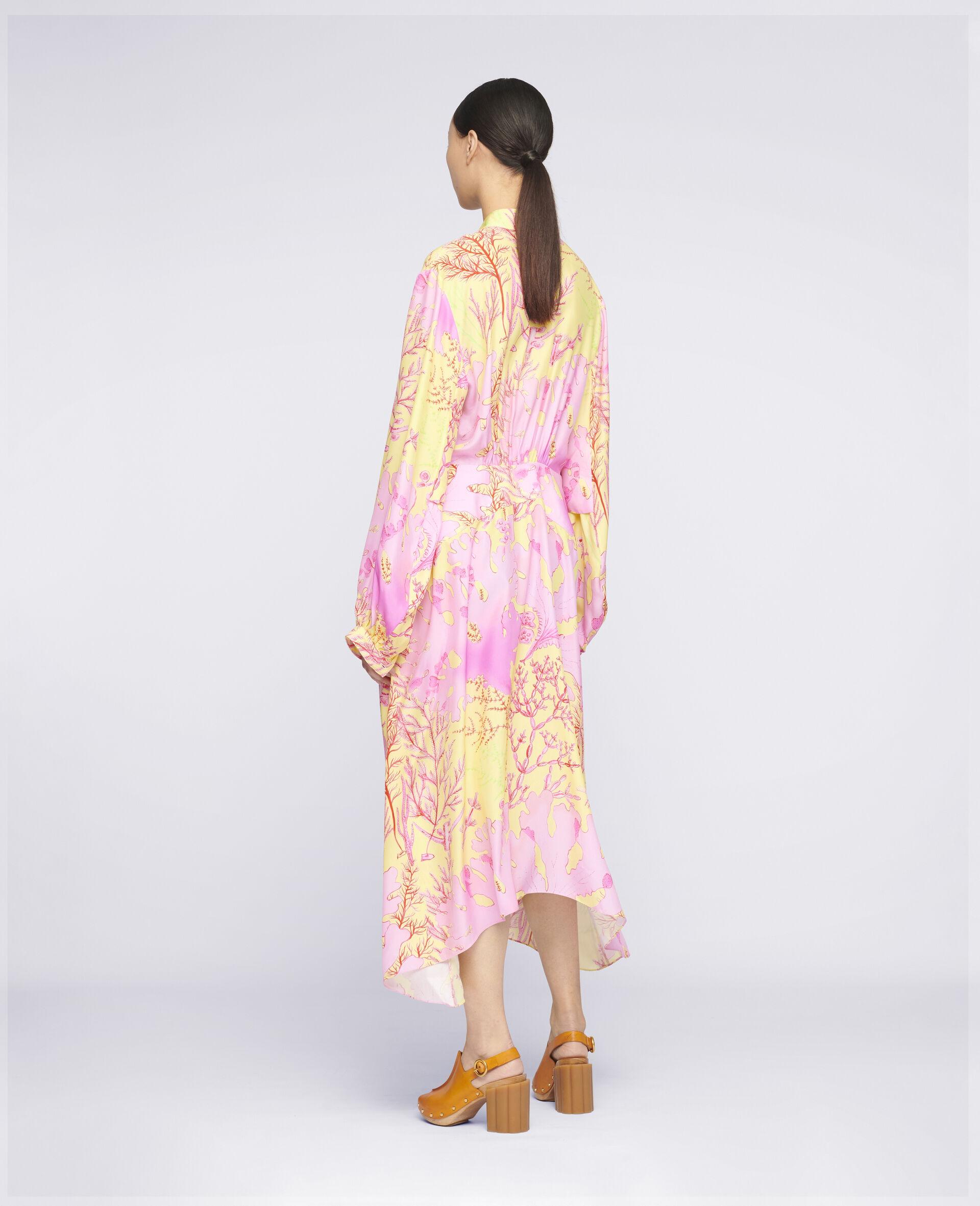 Alyssa Silk Dress-Multicolour-large image number 2