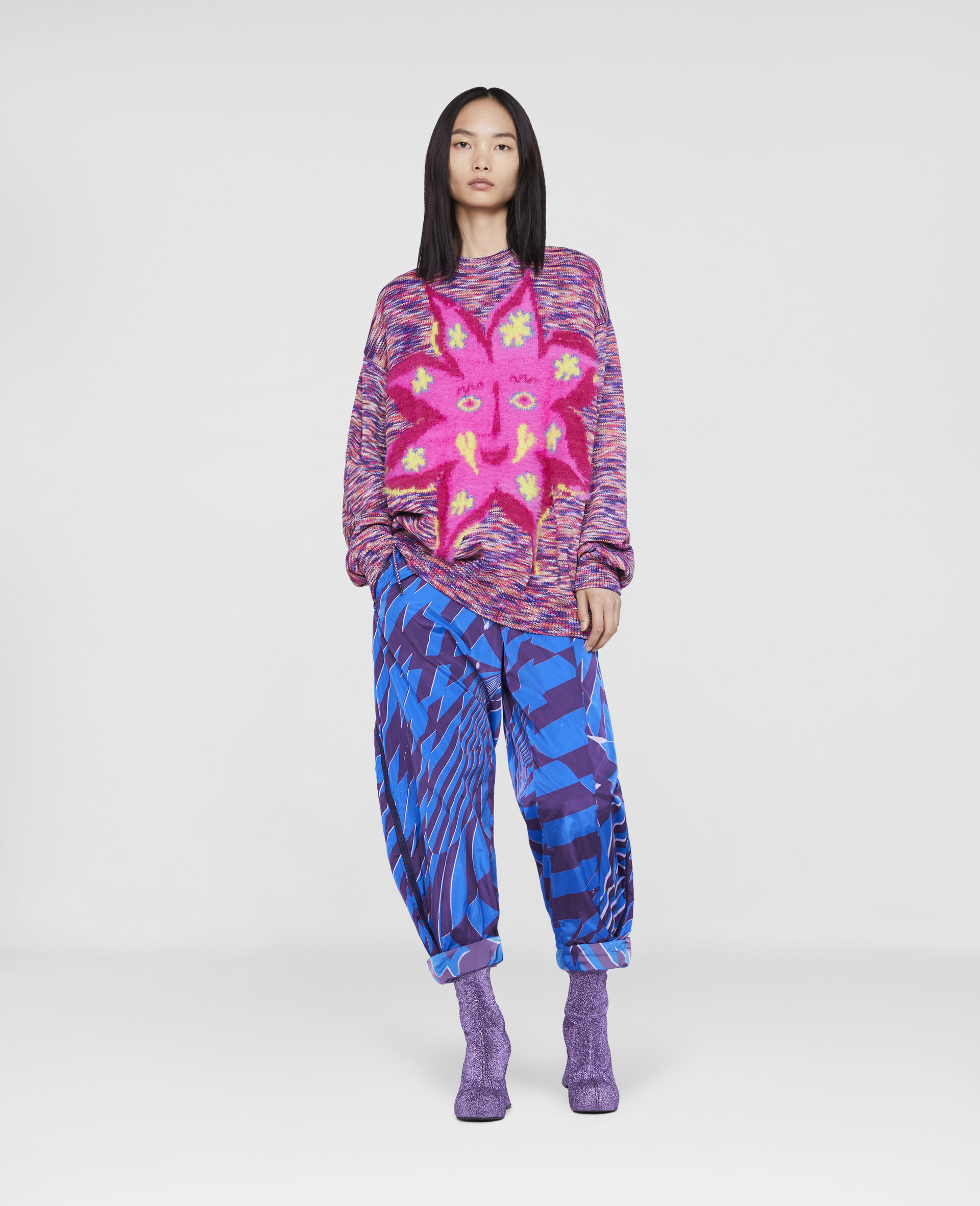 Myfawnwy Jumper -Multicolour-large image number 1
