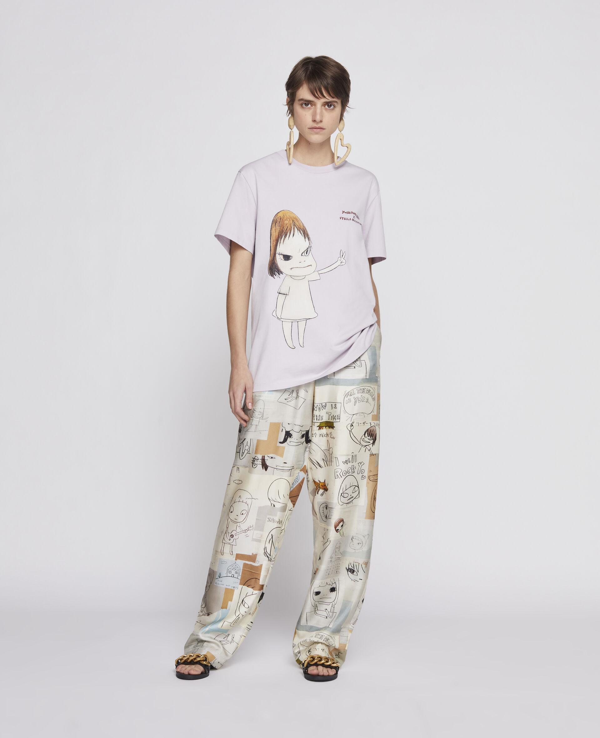 T-Shirt Nara aus Bio-Baumwolle -Purple-large image number 1