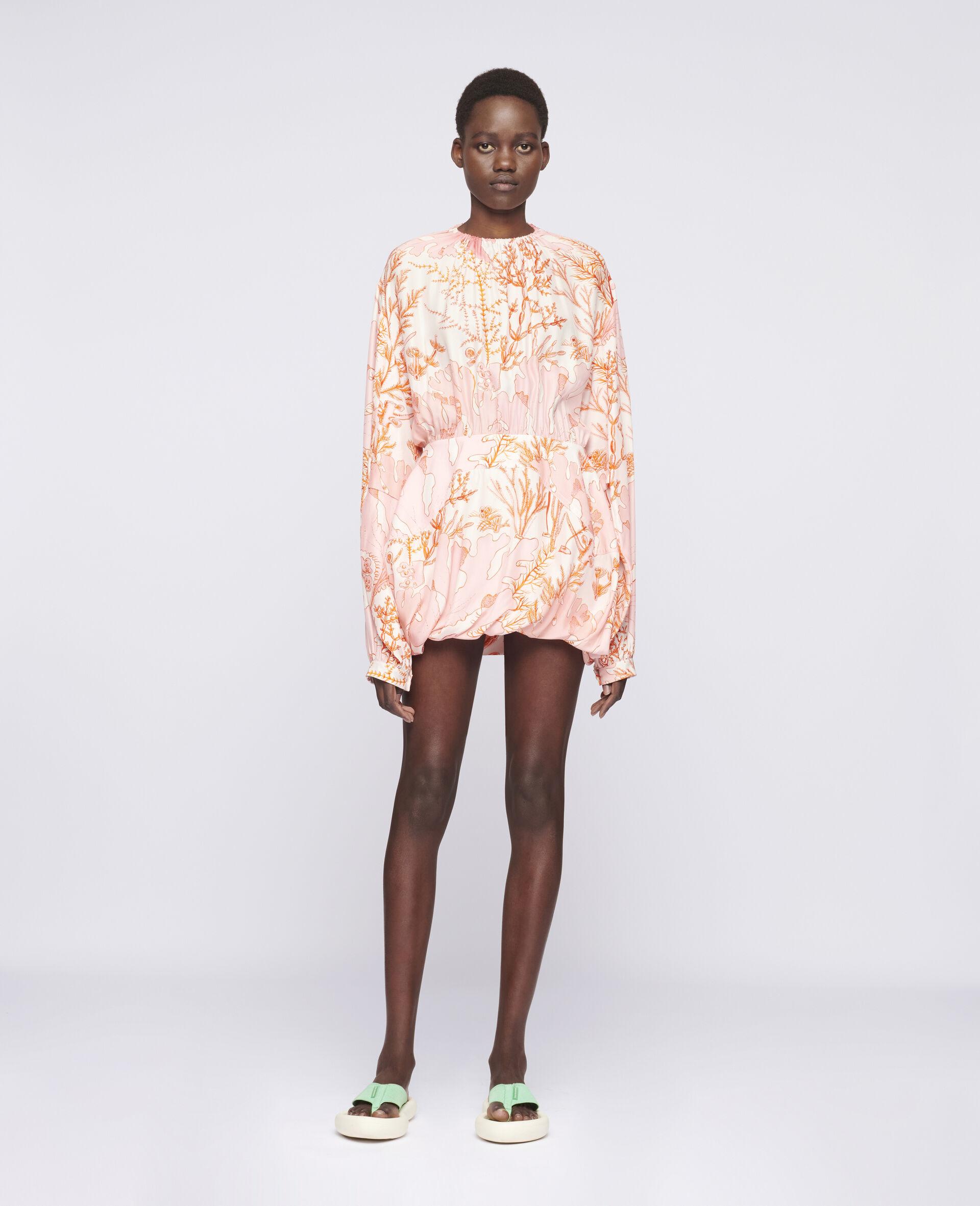 Amanda Silk Dress-Multicolour-large image number 1