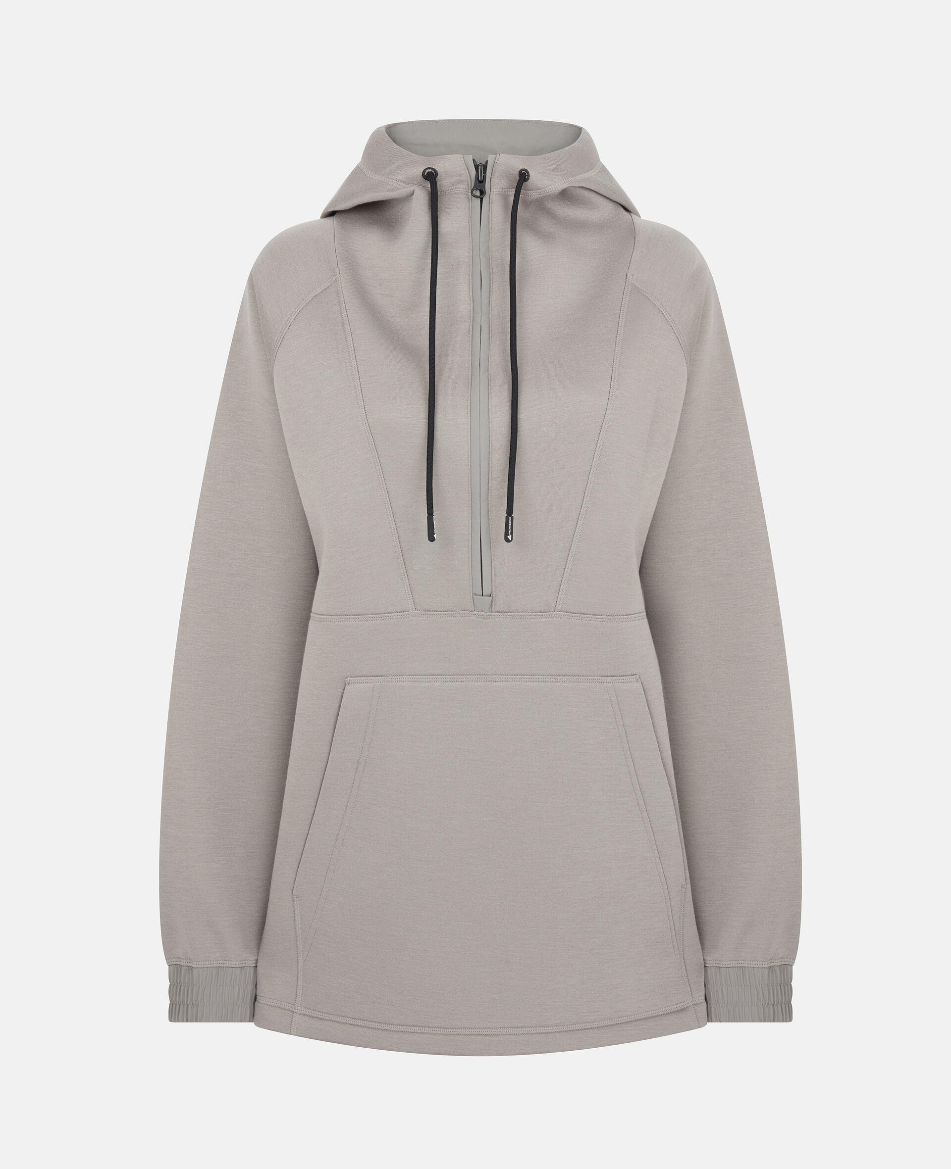 Grey Training Hoodie-Grey-large image number 0