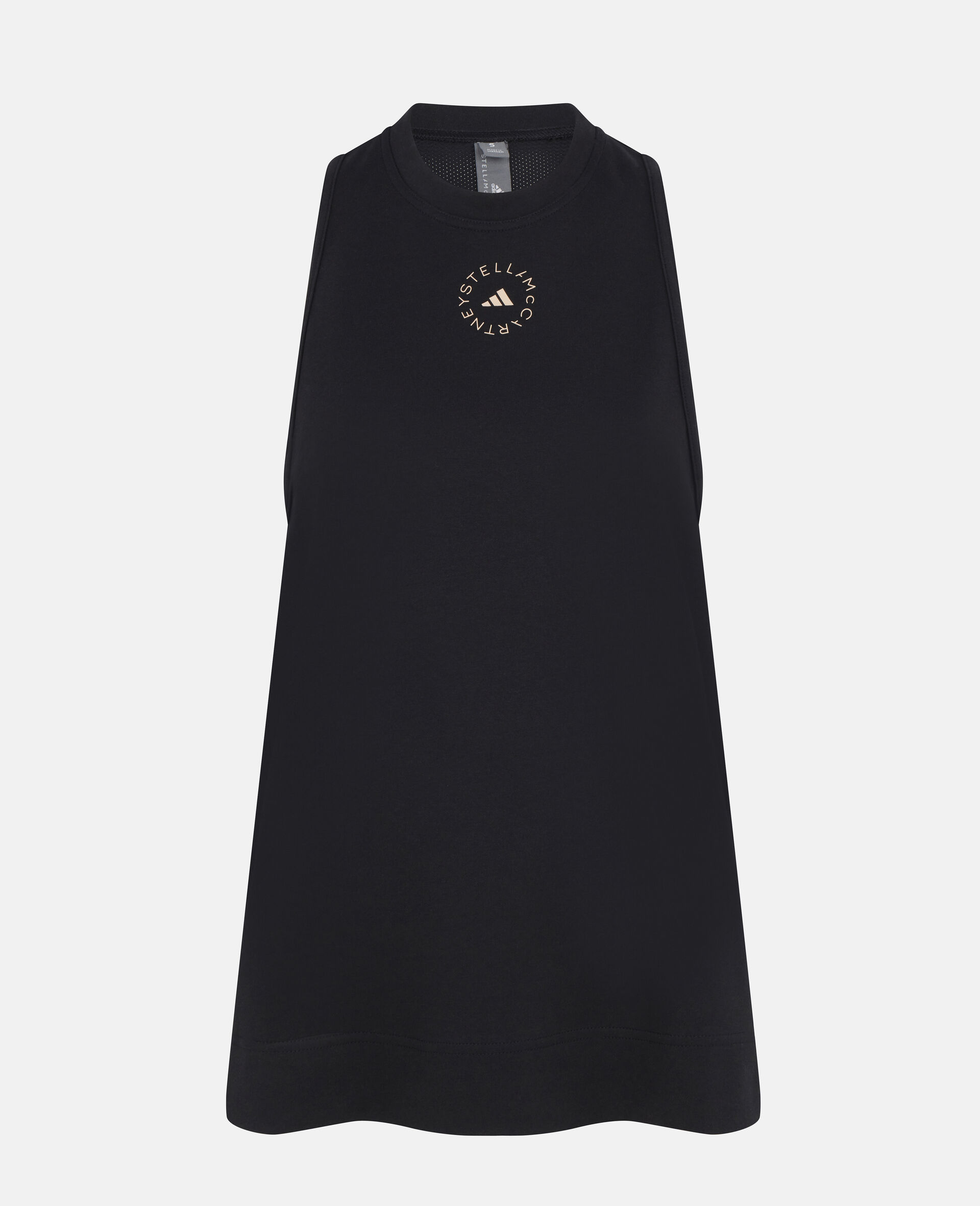 黑色训练背心式上衣-黑色-large image number 0