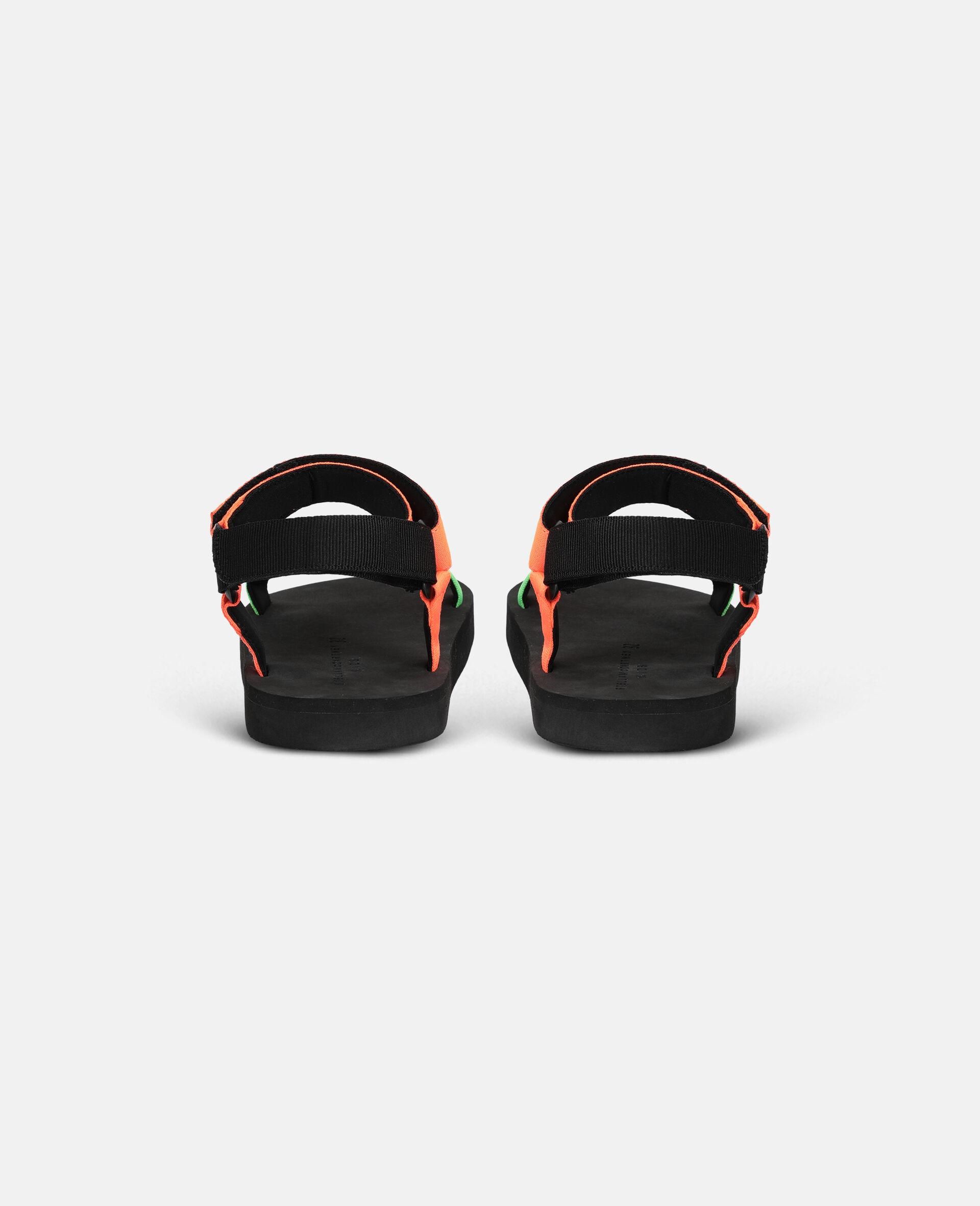 多色粘带凉鞋 -Multicolored-large image number 2
