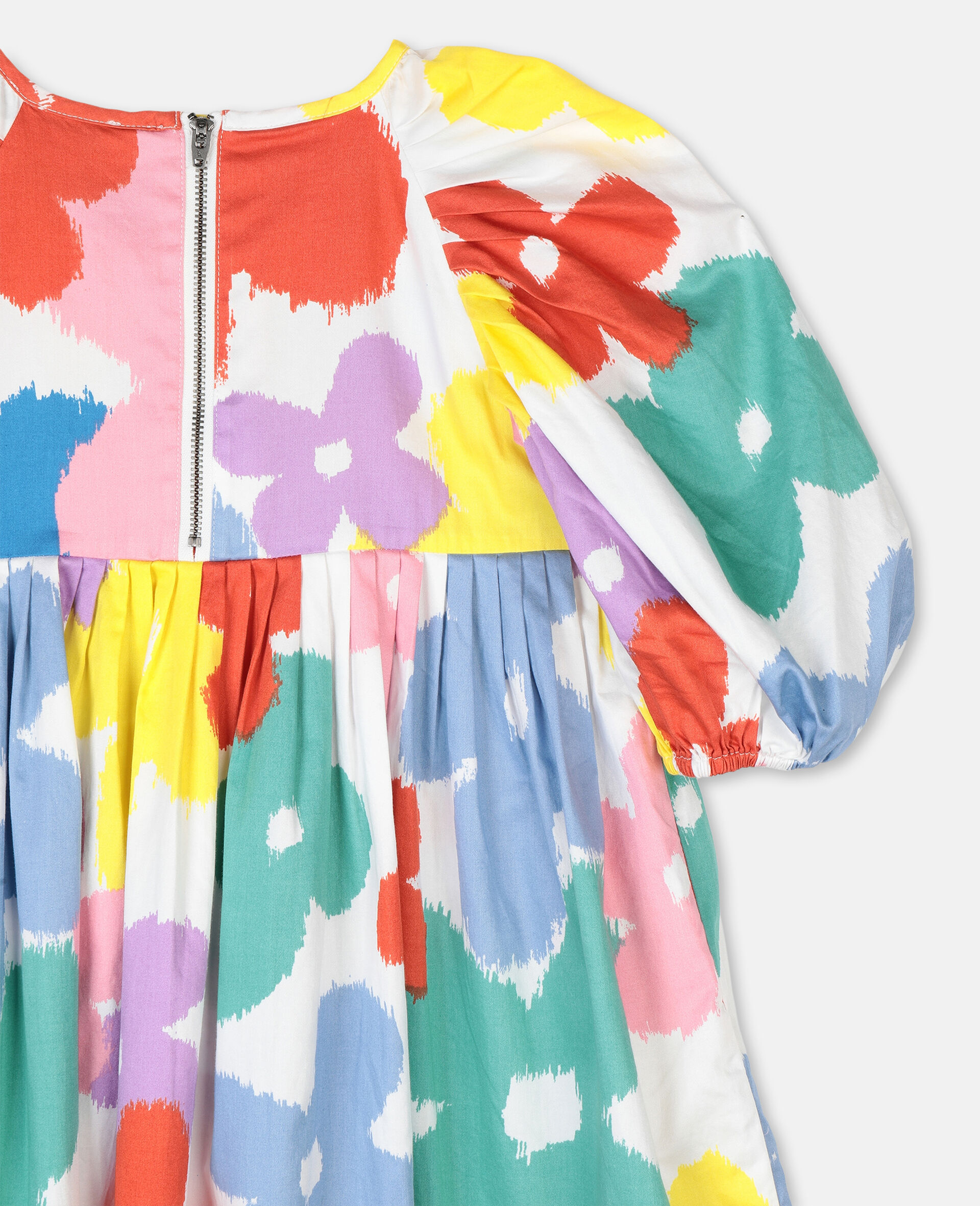 Flowers棉质连衣裙-Multicolored-large image number 2