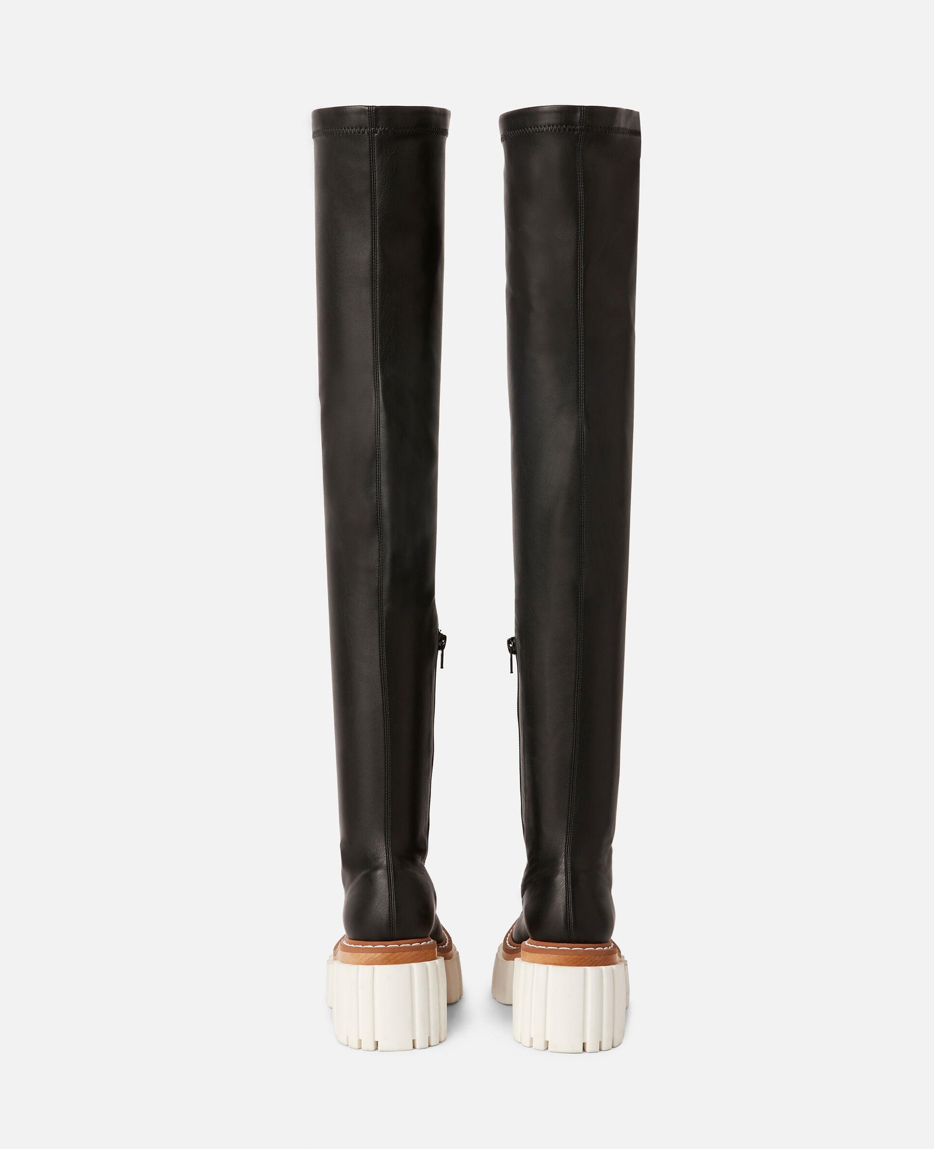 Emilie 过膝靴-黑色-large image number 2