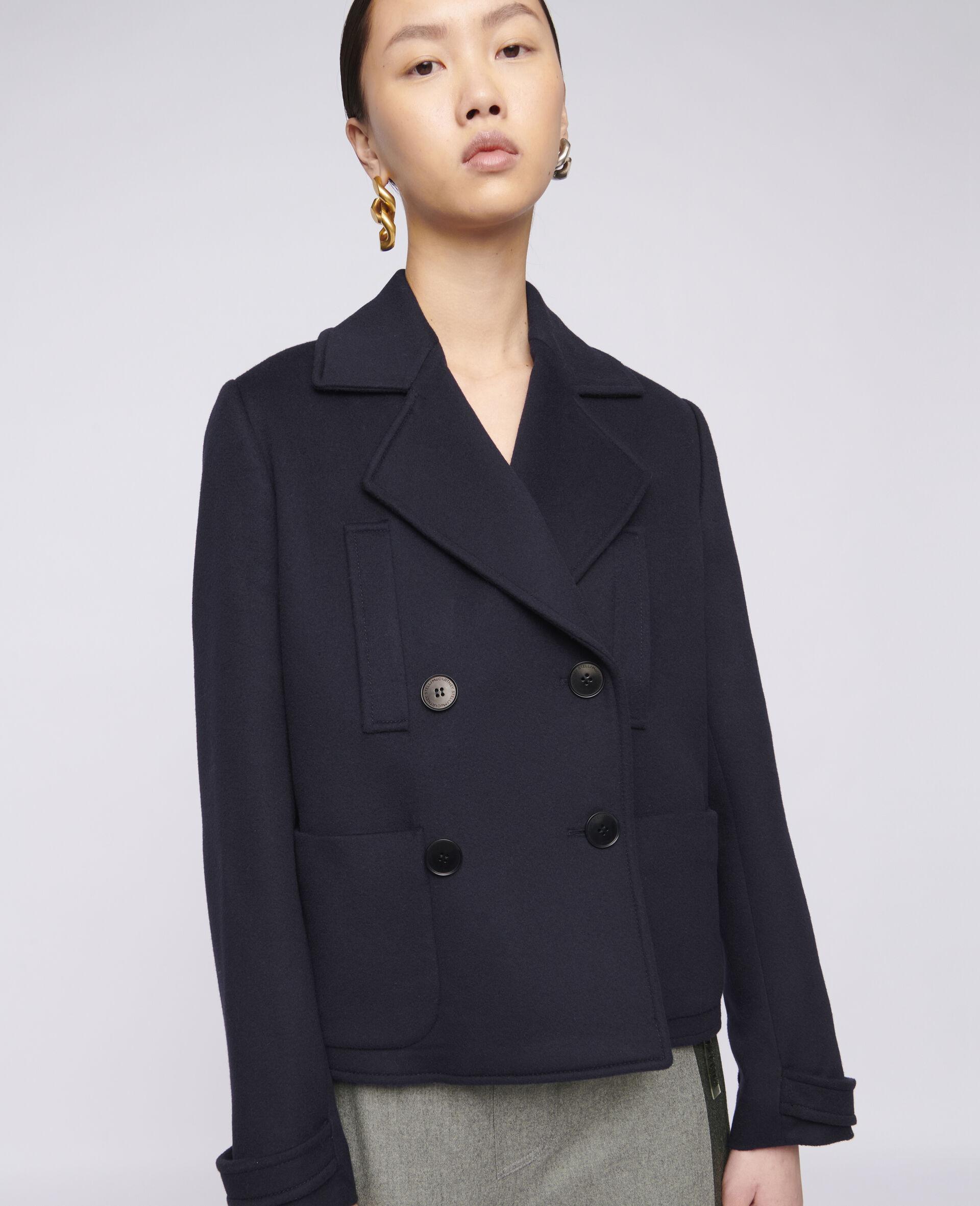 Rebecca Wool Coat-Blue-large image number 3