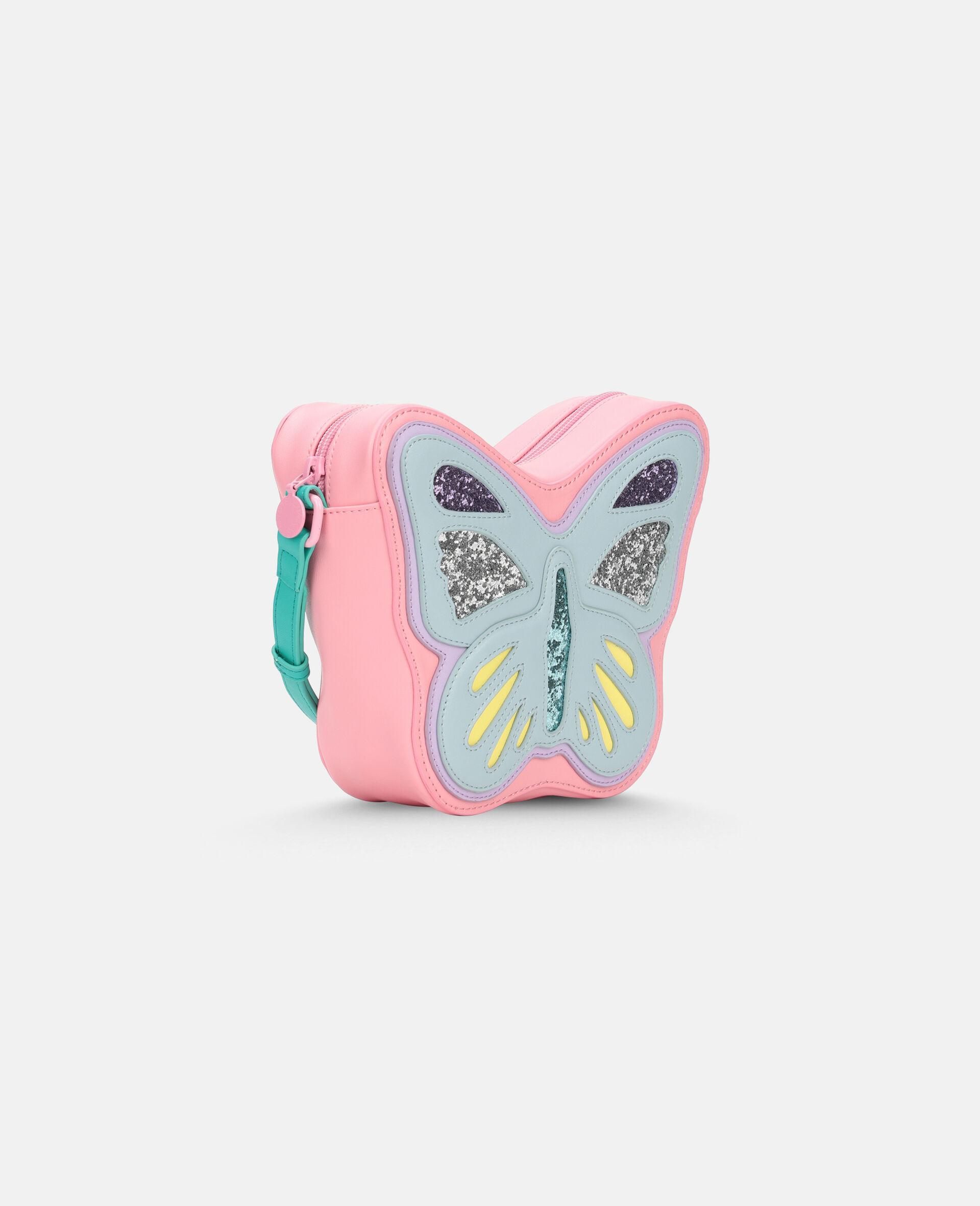 Sac porté épaule papillon -Bleu-large image number 1