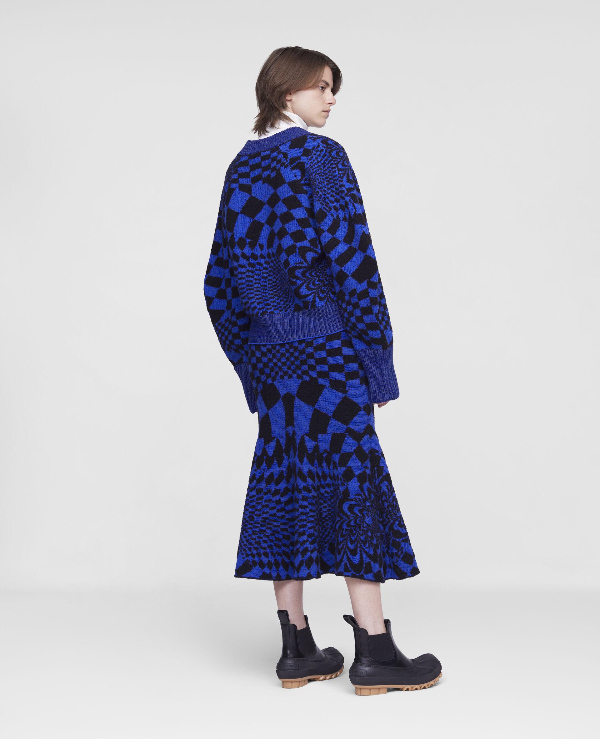 Geometric Pattern Skirt-Multicolour-large image number 2