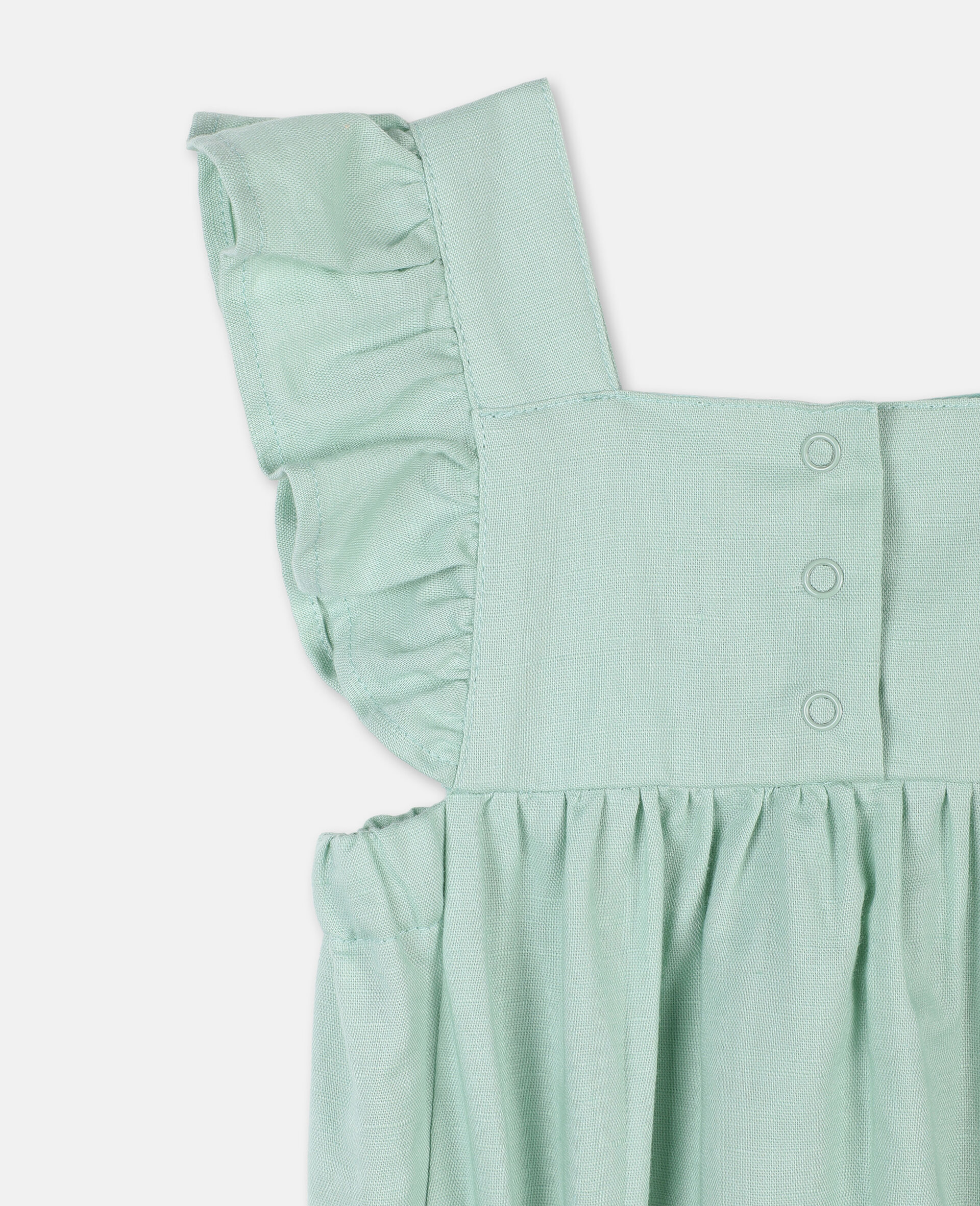 Butterfly Lace Jumpsuit-Green-large image number 2