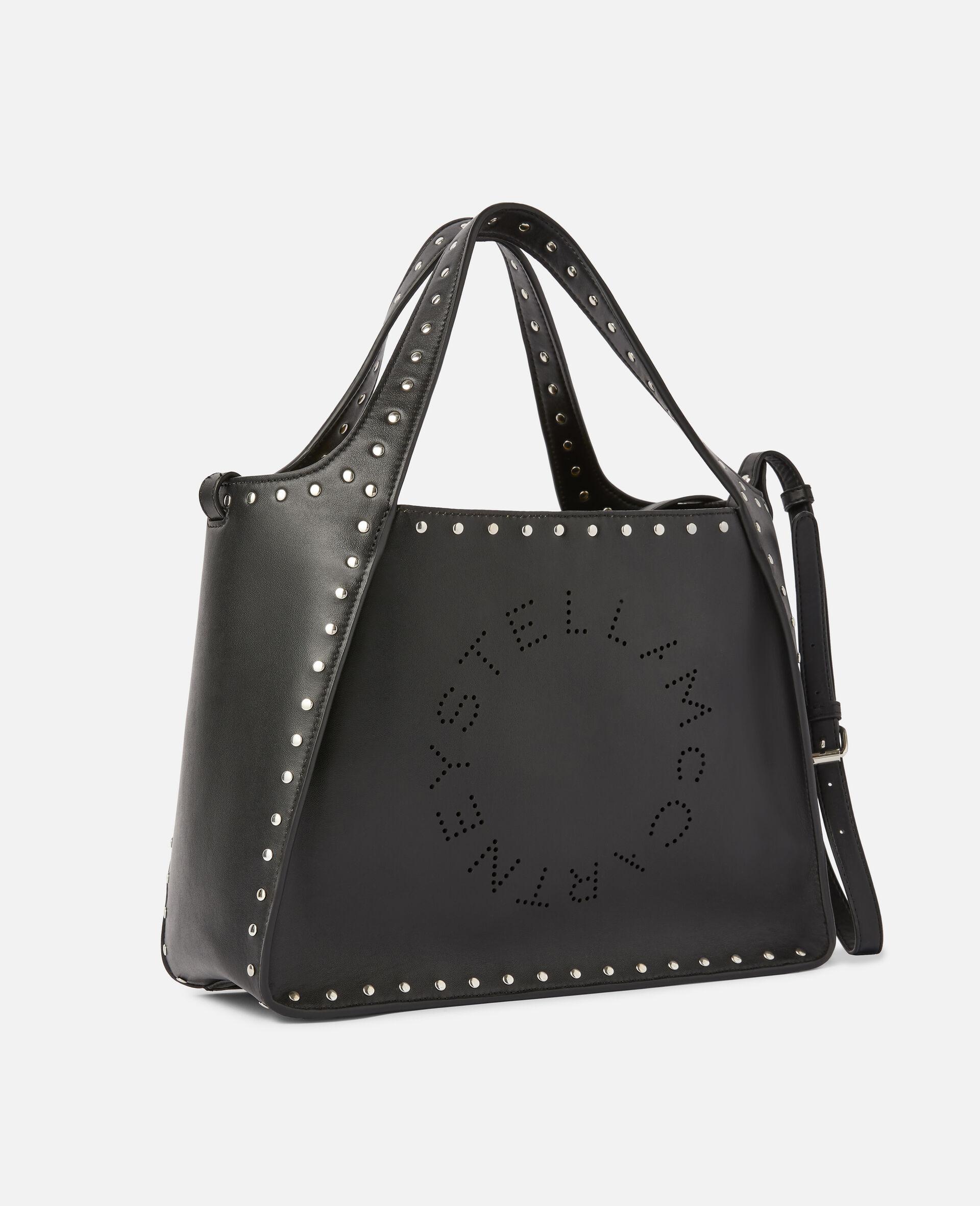 Stella Logo Crossbody Bag -Black-large image number 1