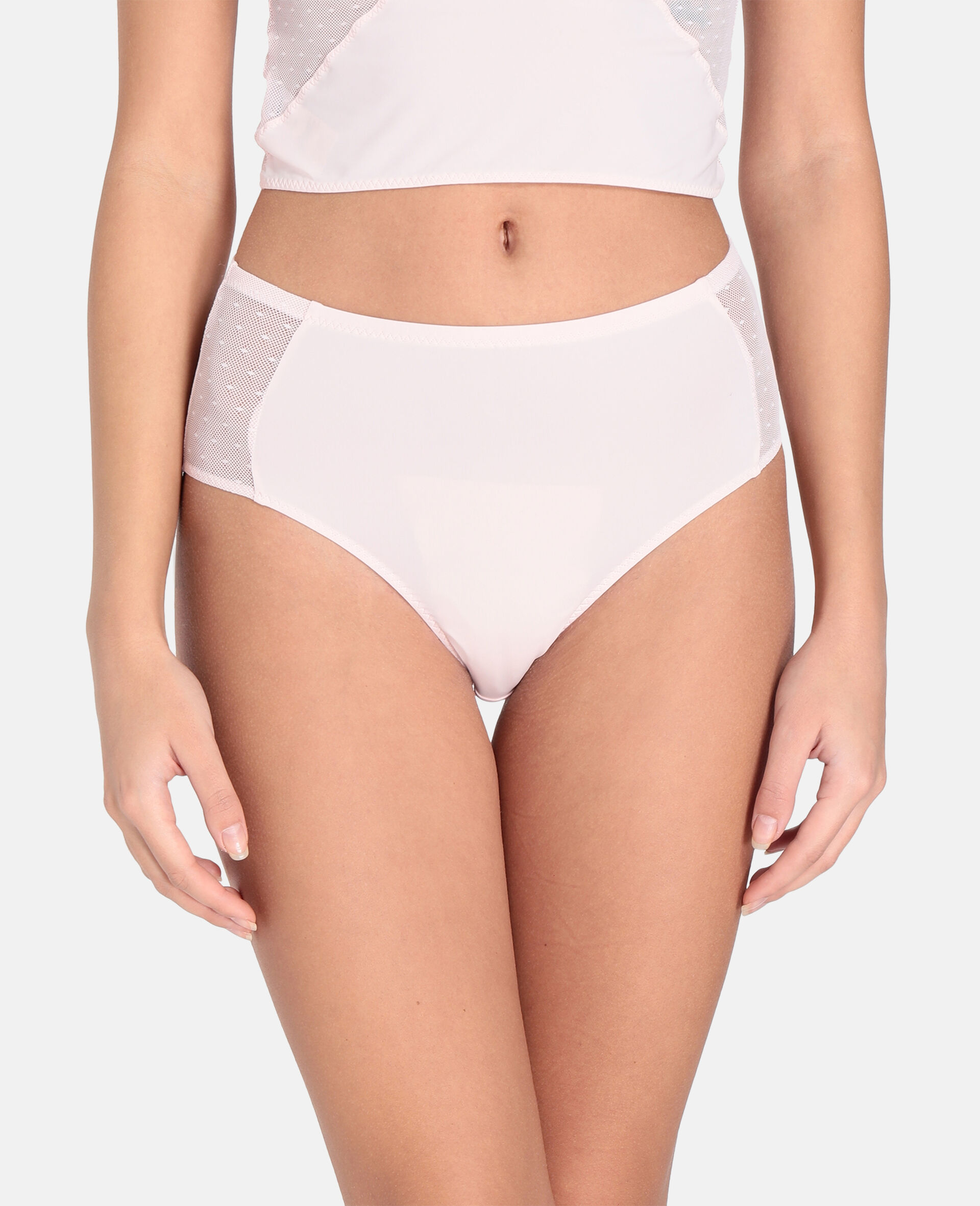 Culotte Annabelle Dashing taille haute-Rose-large image number 3