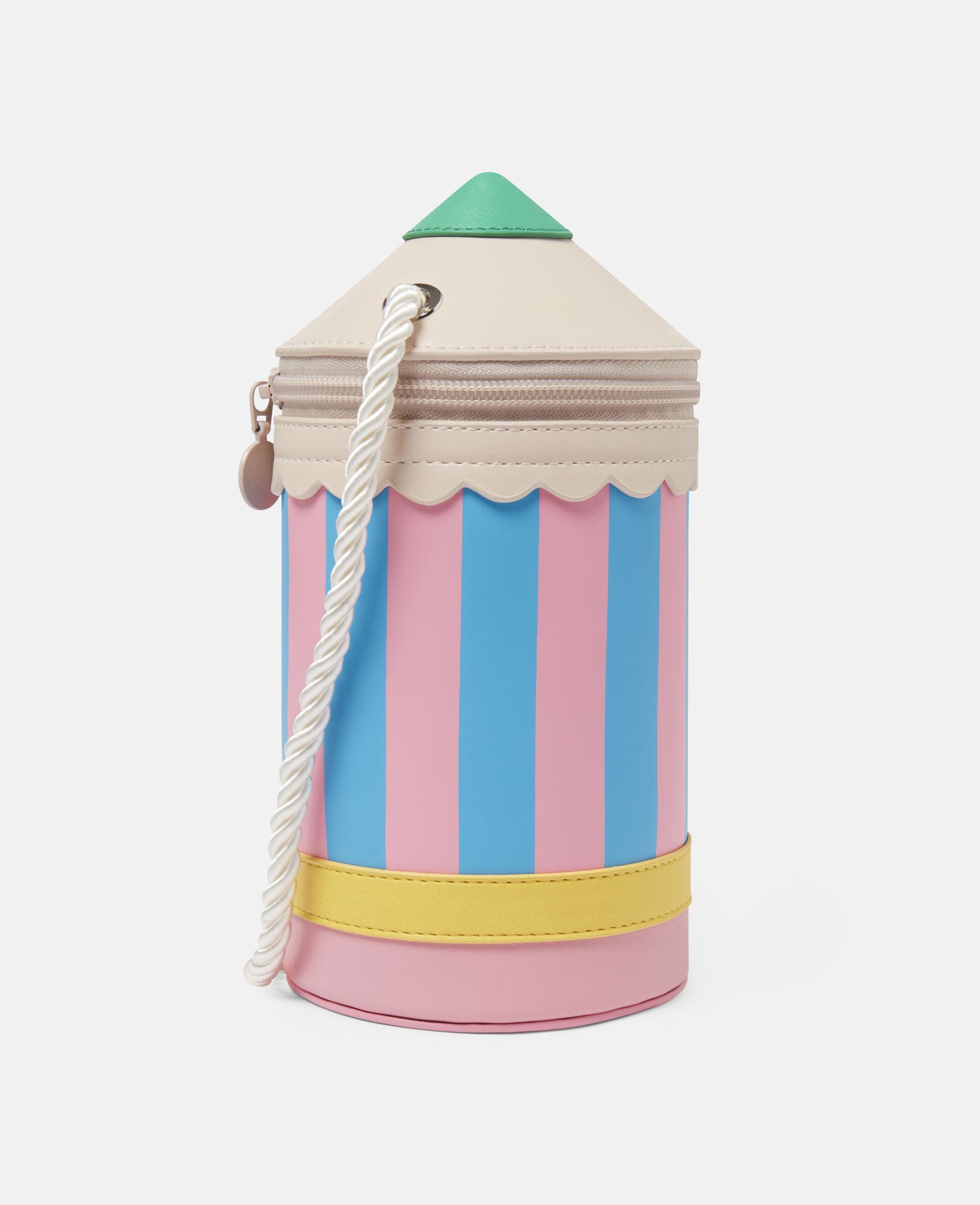 Pencil Alter Mat Shoulder Bag-Multicolour-large image number 1