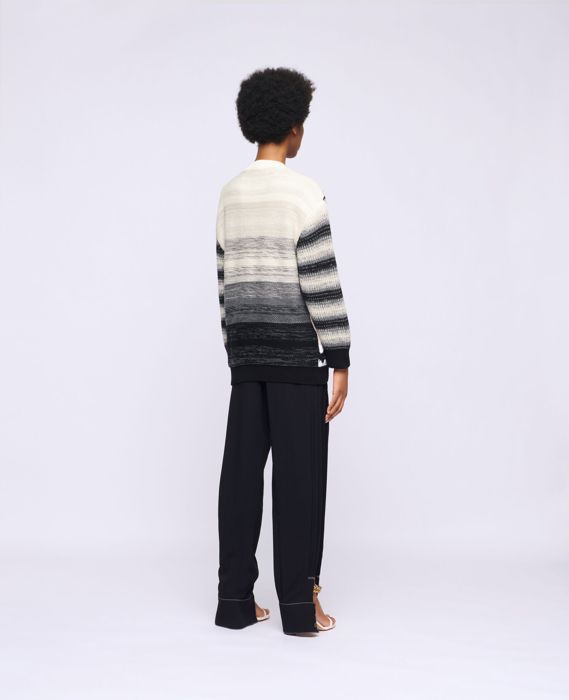 Kind Intarsia Sweater -Multicolour-large image number 2