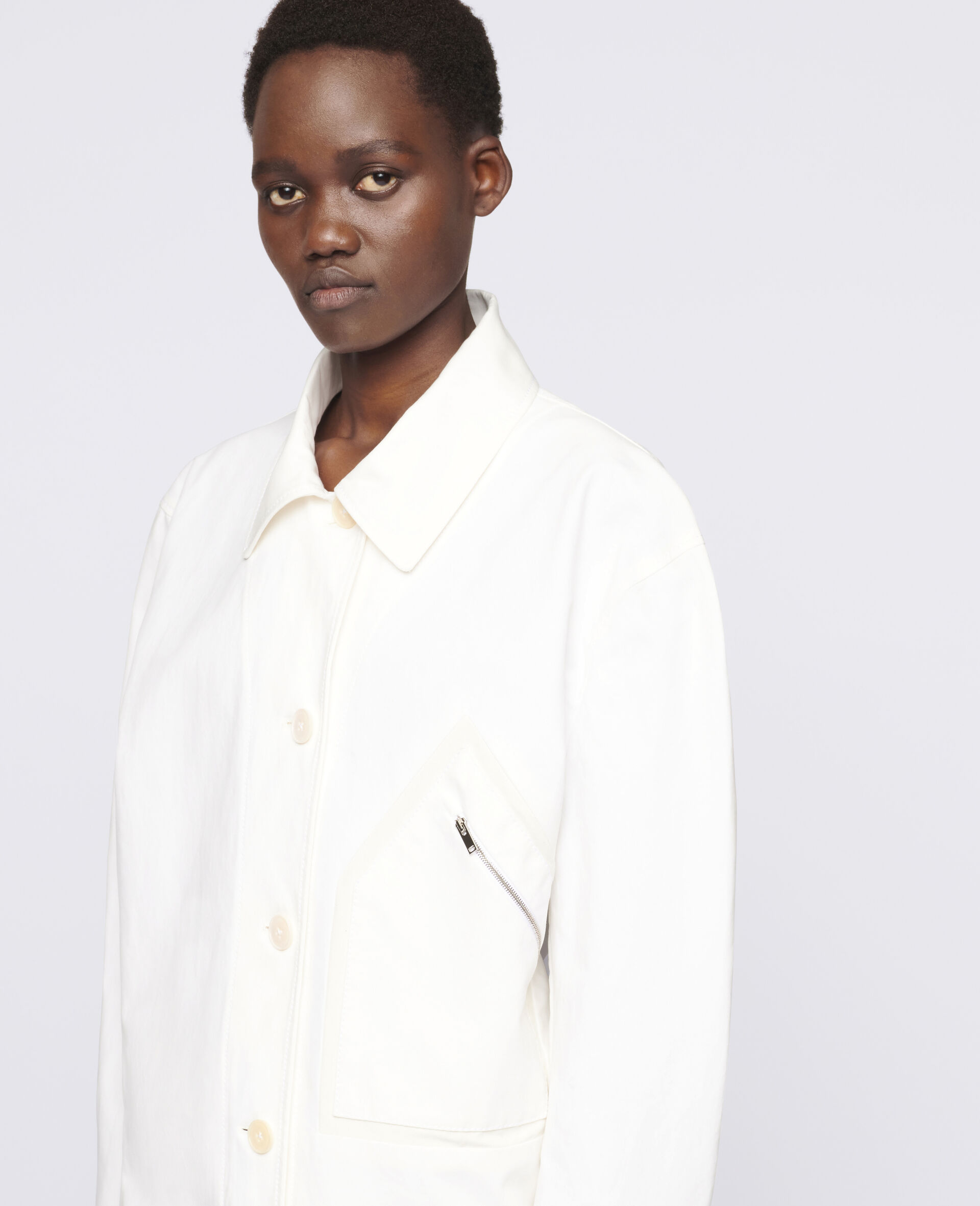 Bailey Jacket-White-large image number 3