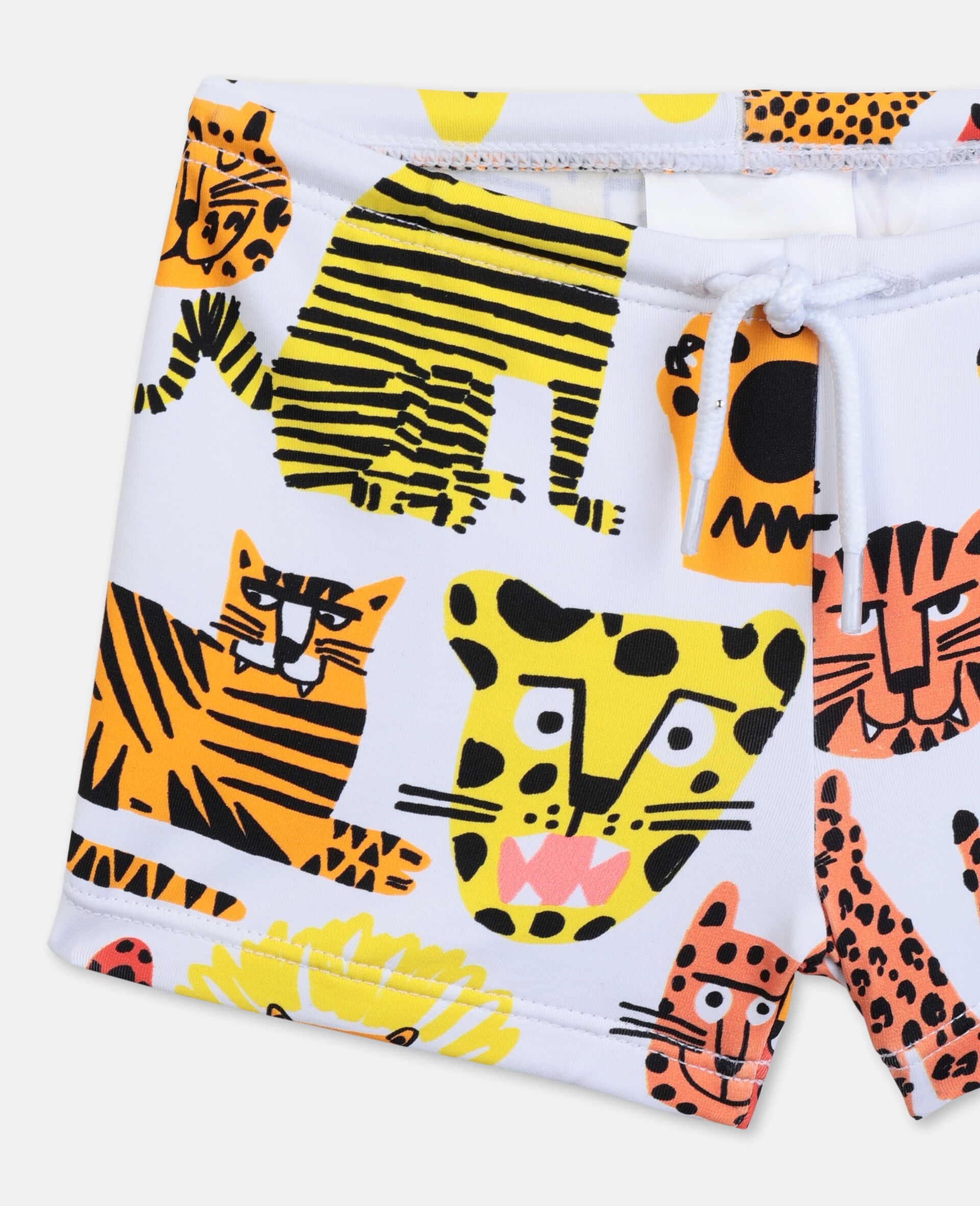 Wild Cats Swim Set -Yellow-large image number 2