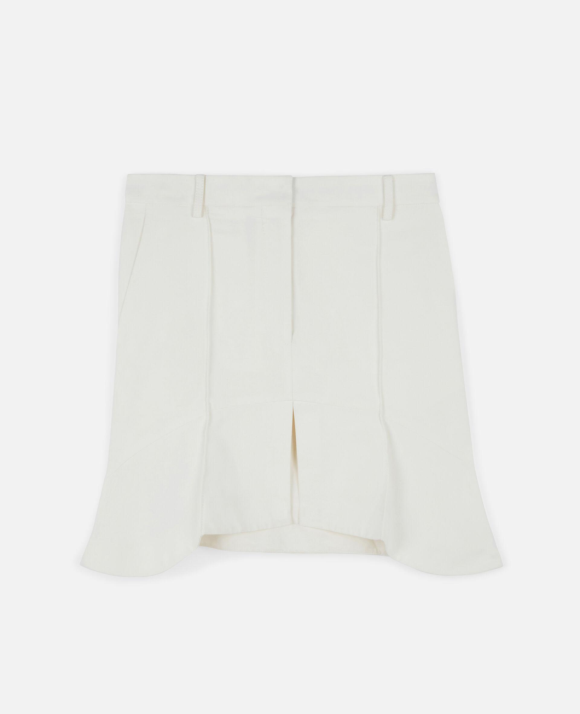 Arabella Mini Skirt-White-large image number 0