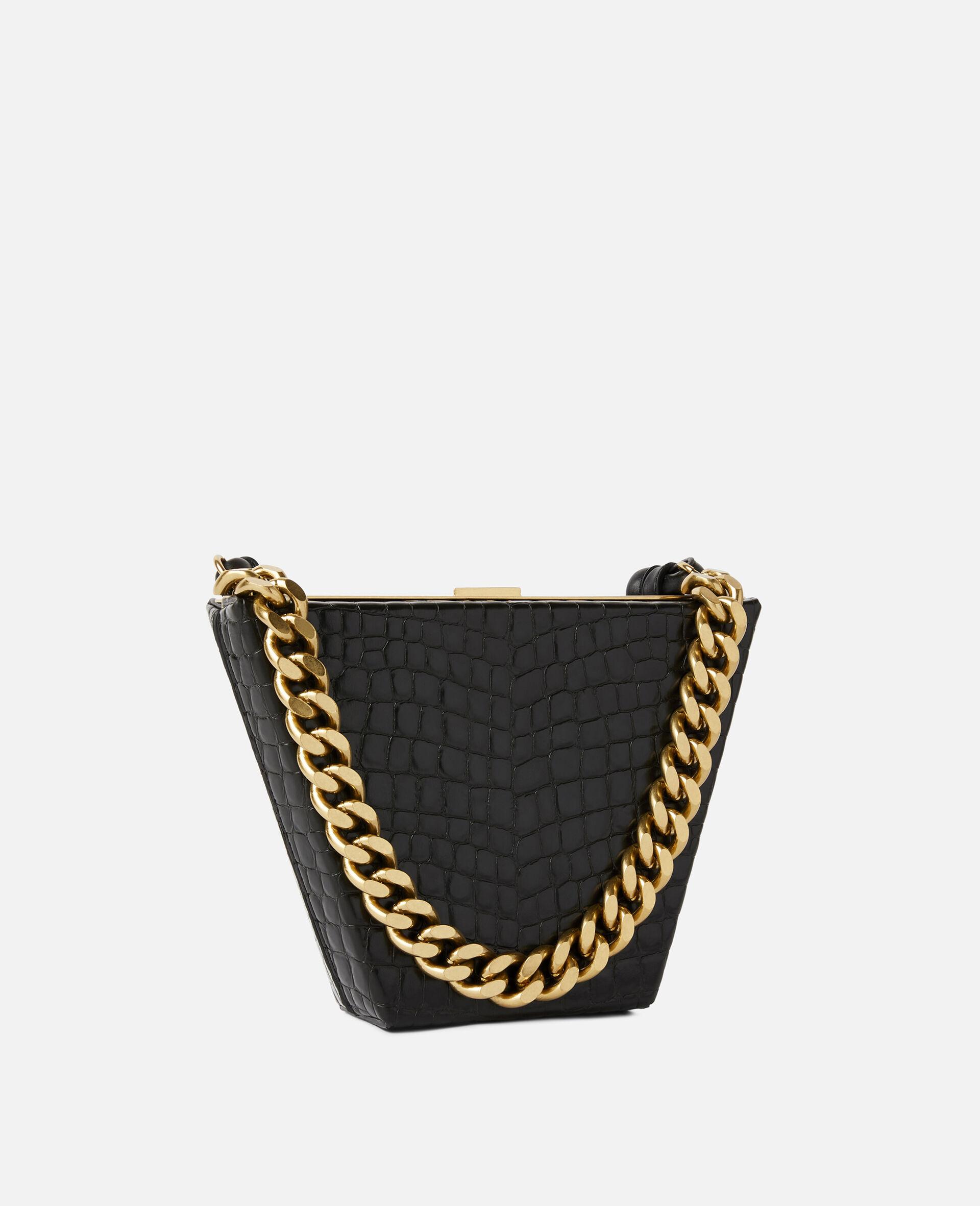 Medium Chunky Chain Bag-Black-large image number 1