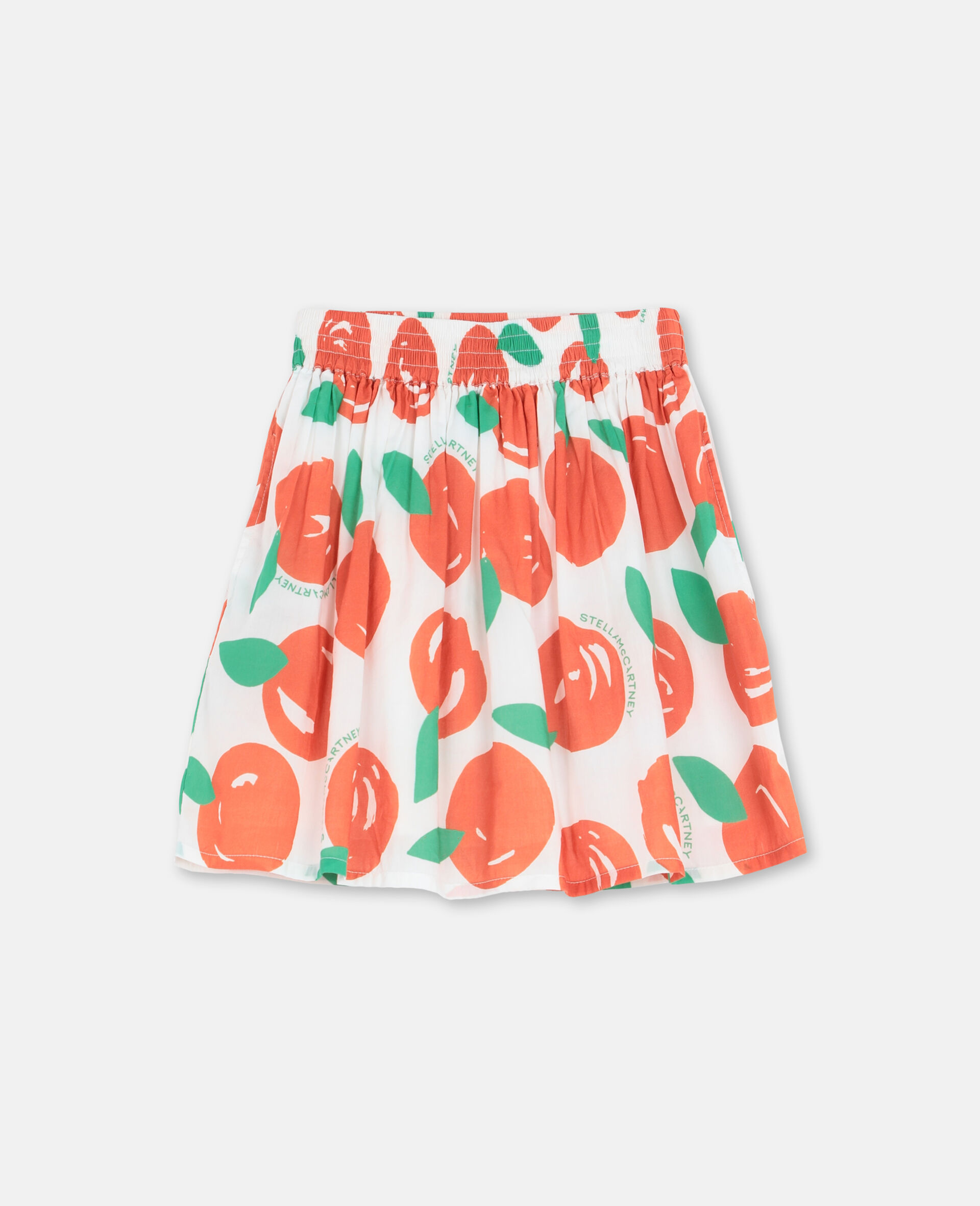 Clementine Cotton Skirt -Red-large image number 0