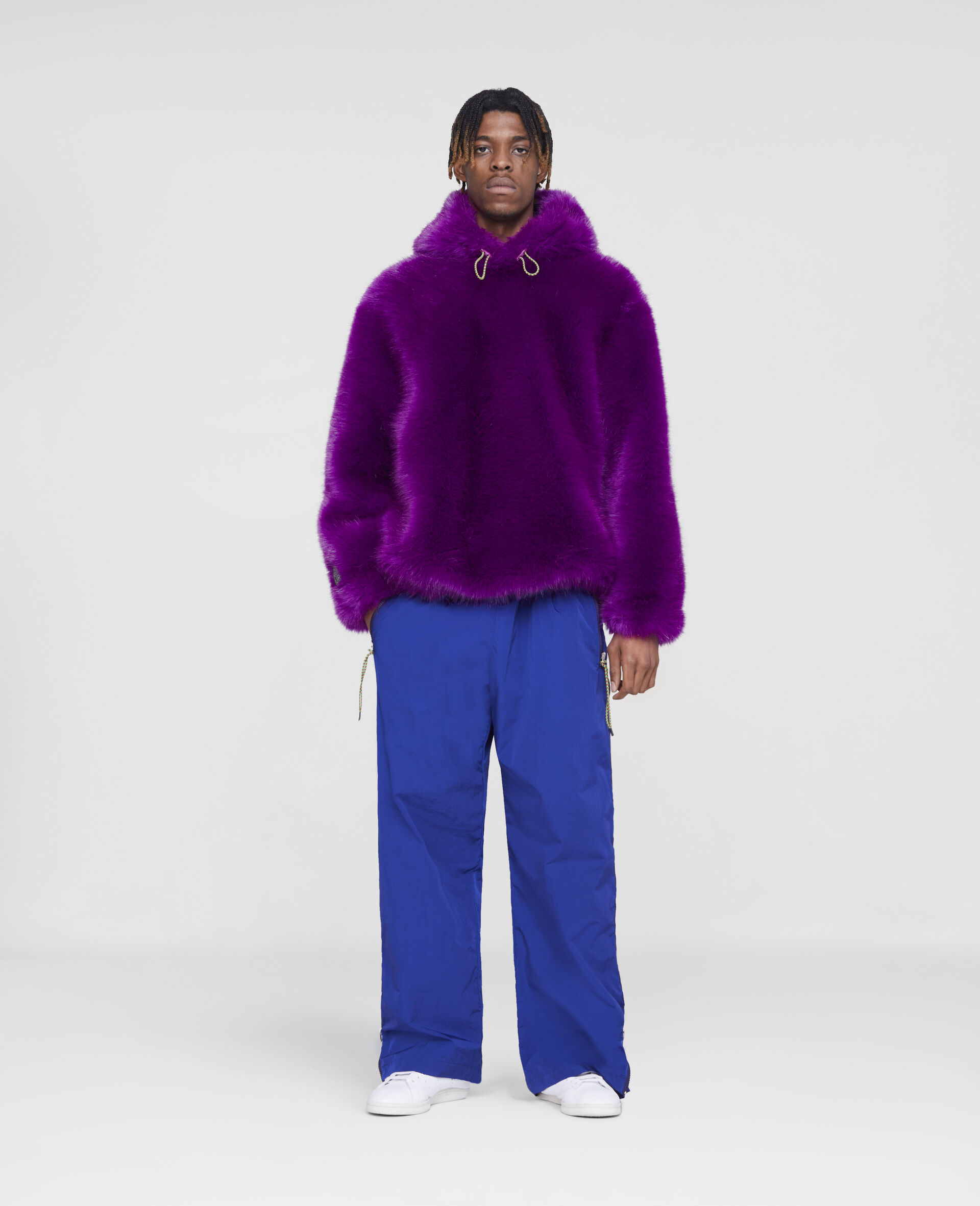 FFF Coat -Purple-large image number 3