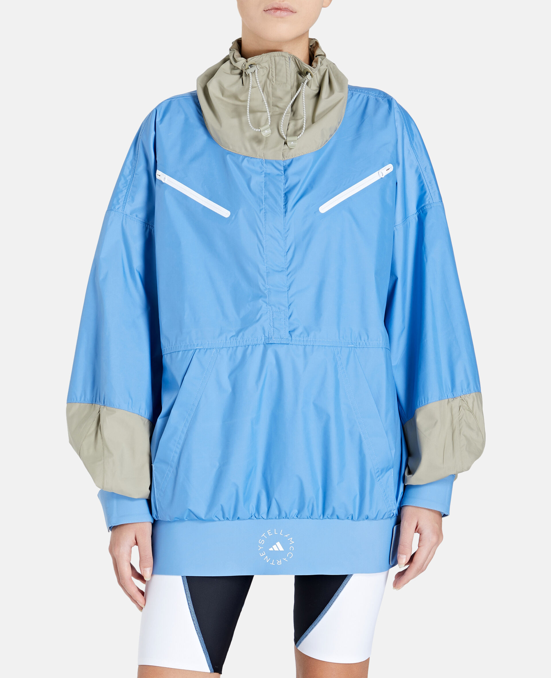Beach Defender Jacke mit halbem Reißverschluss-Blau-large image number 4