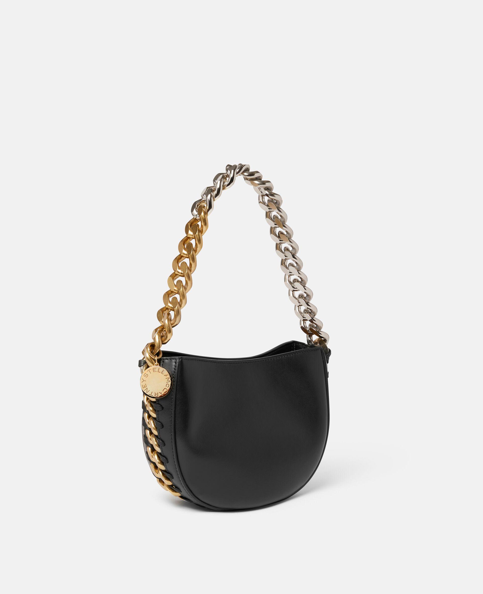 Frayme Small Shoulder Bag-Black-large image number 1
