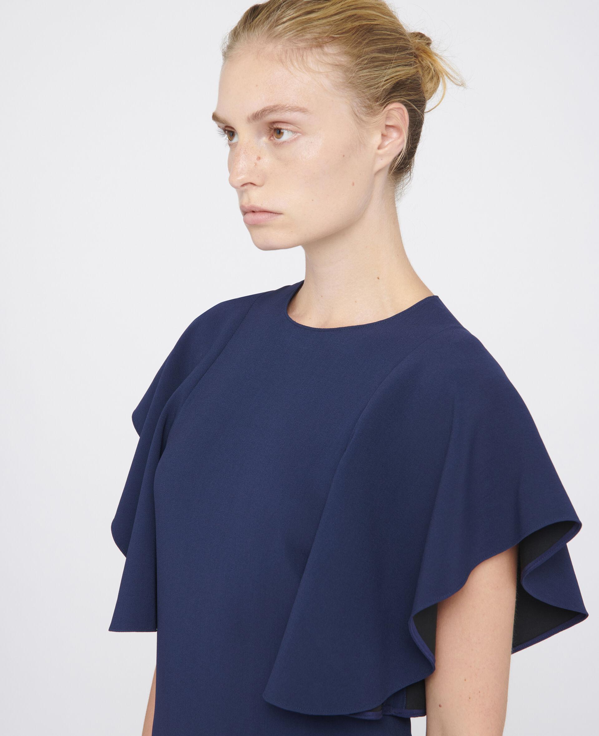 Lana Mini Dress-Blue-large image number 3
