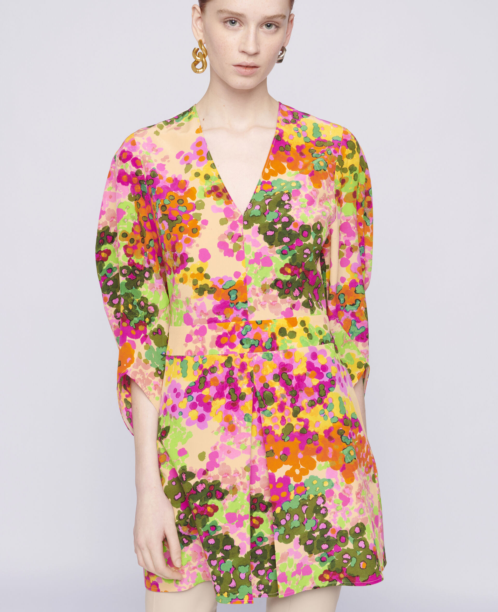 Maddison Mini Dress-Multicolour-large image number 3