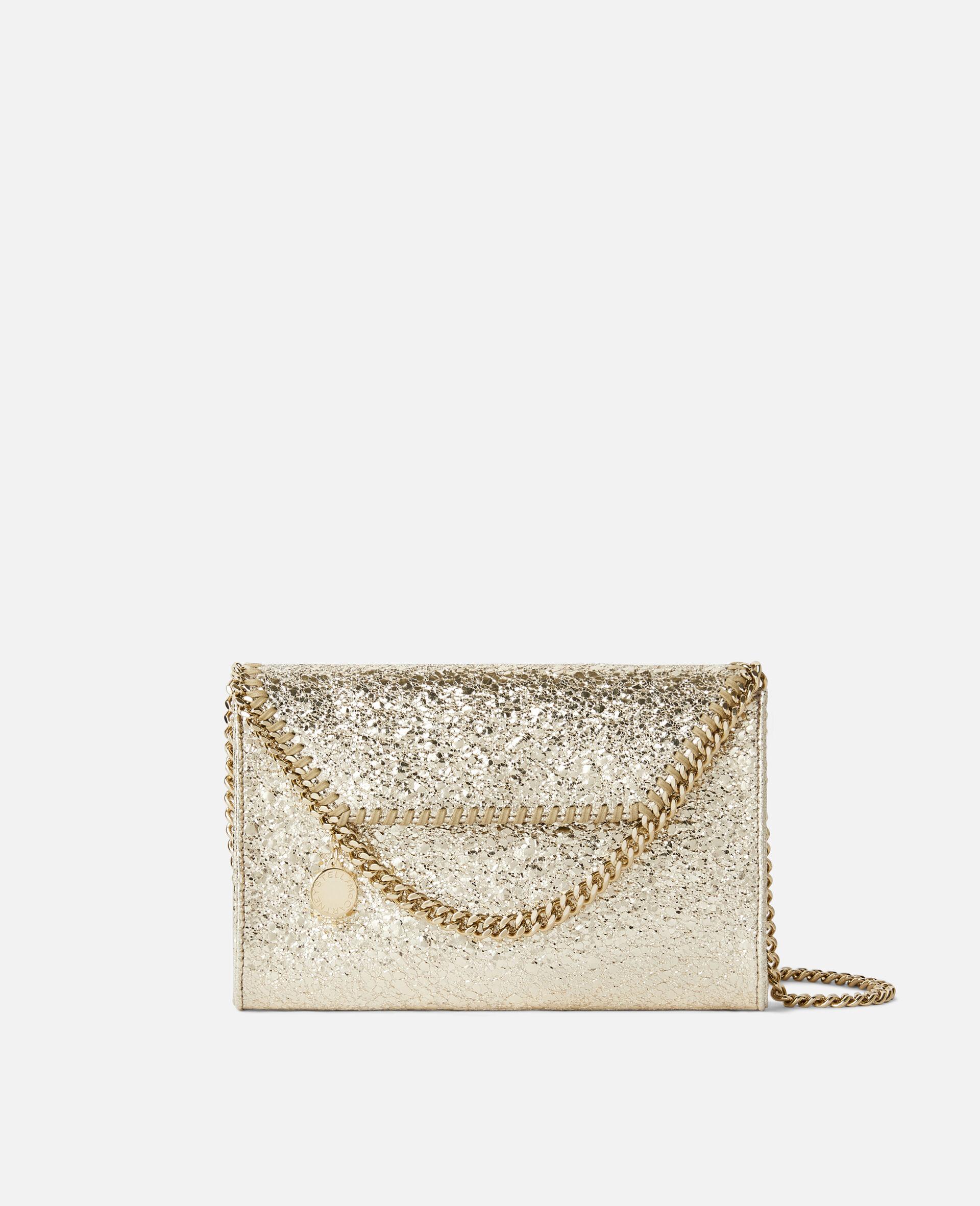 Mini sac porté épaule Falabella -Jaune-large image number 0