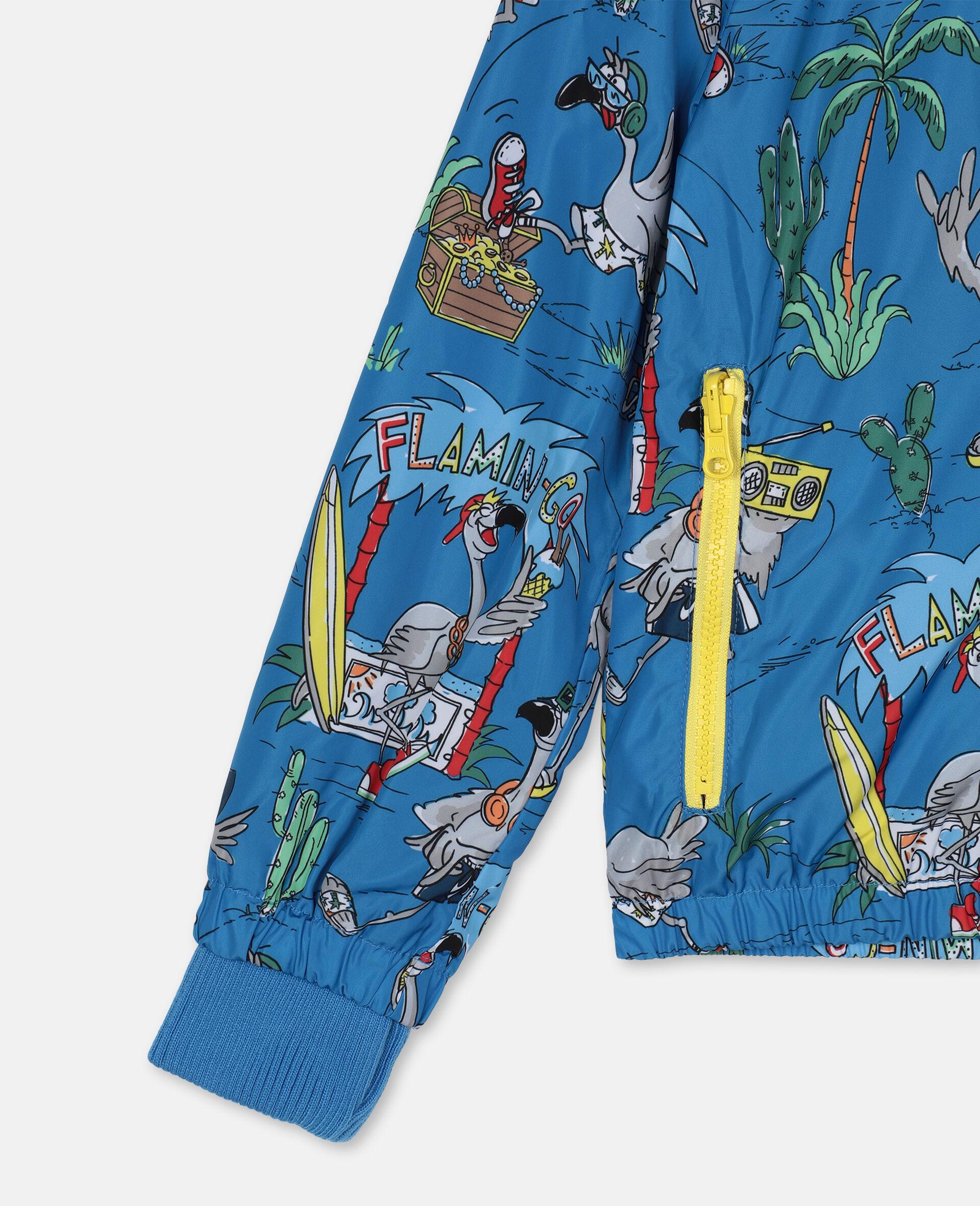 Flamingo Land Jacket -Blue-large image number 1