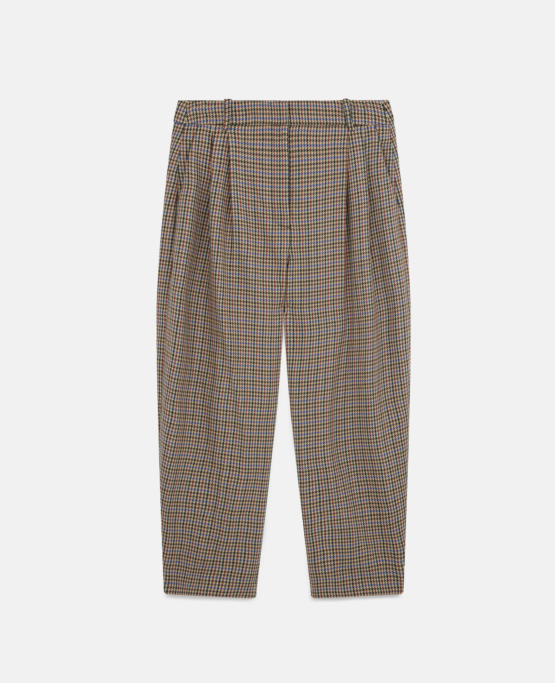 Cavalry Wool Trousers-Beige-large image number 0