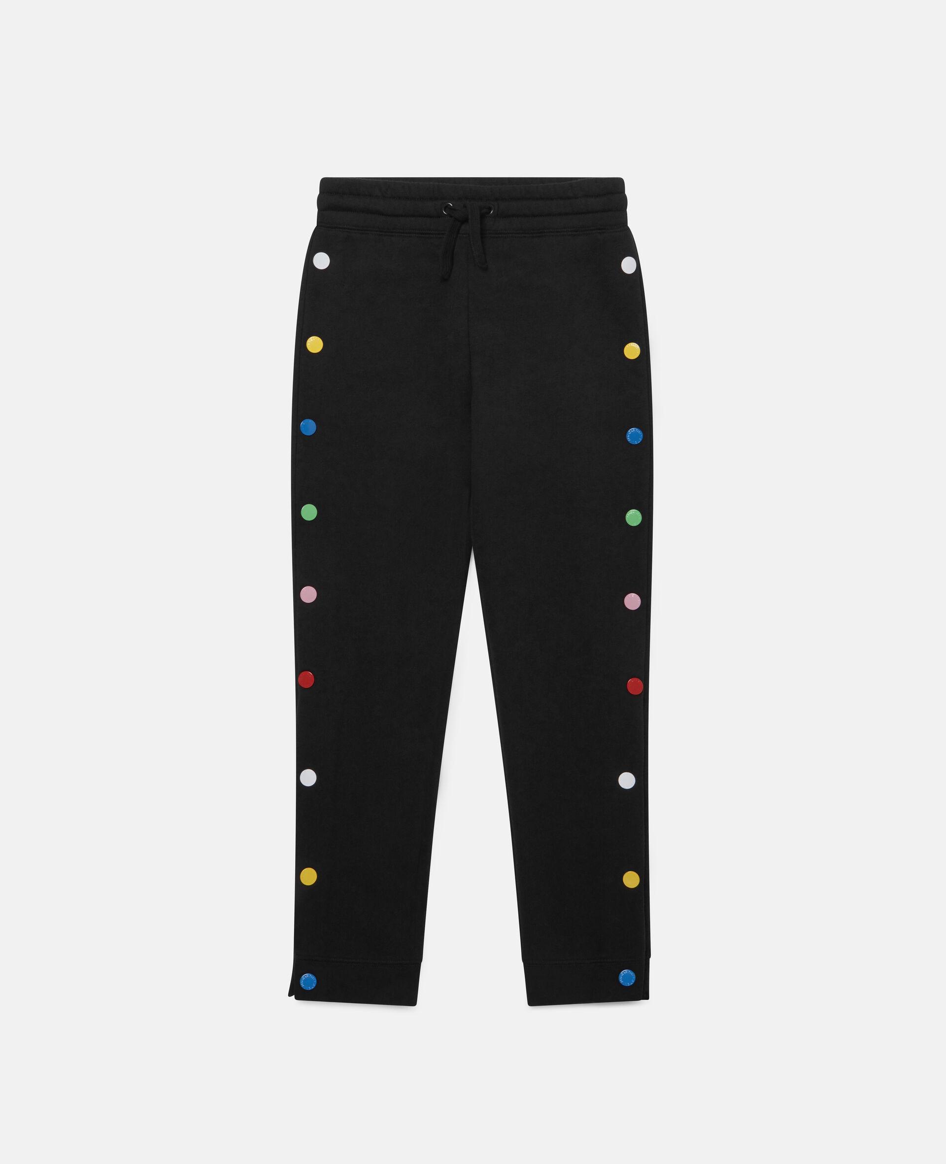 Pantalon de jogging en polaire-Noir-large image number 0
