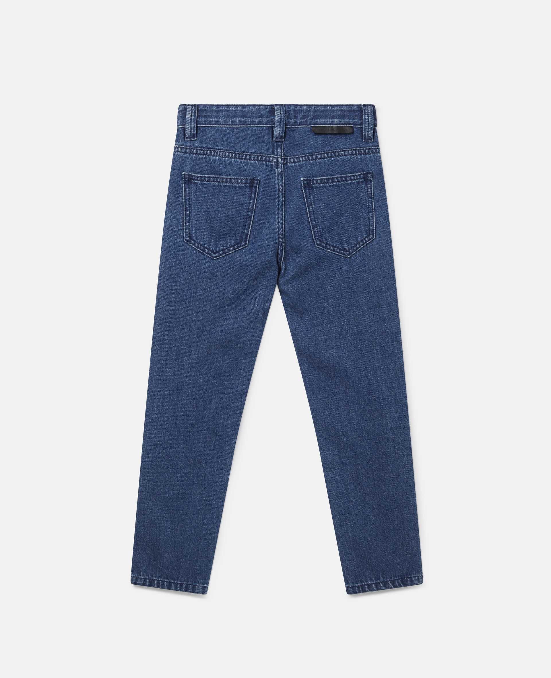 Denim Trousers-Blue-large image number 2
