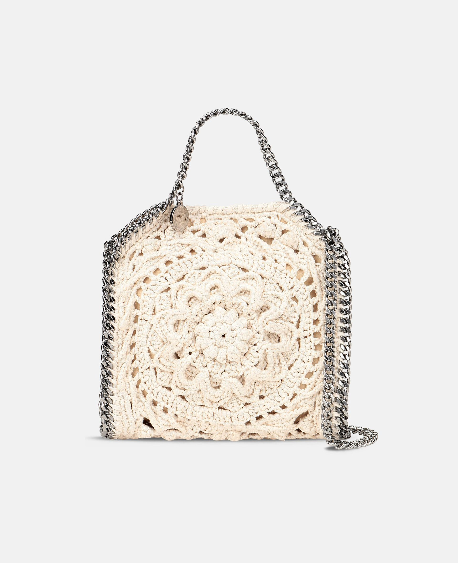 Falabella Tiny Tote-White-large image number 0