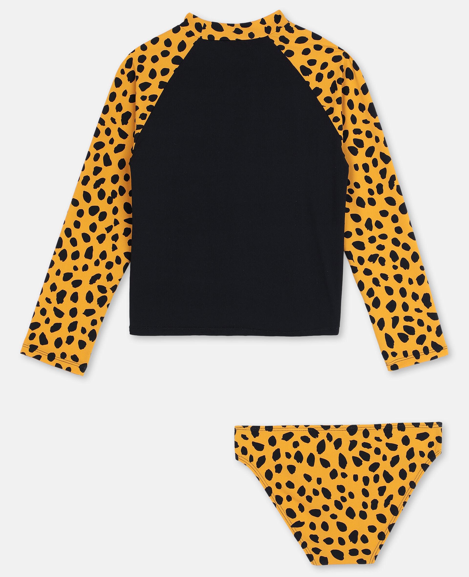 Cheetah Swim Set -Black-large image number 4